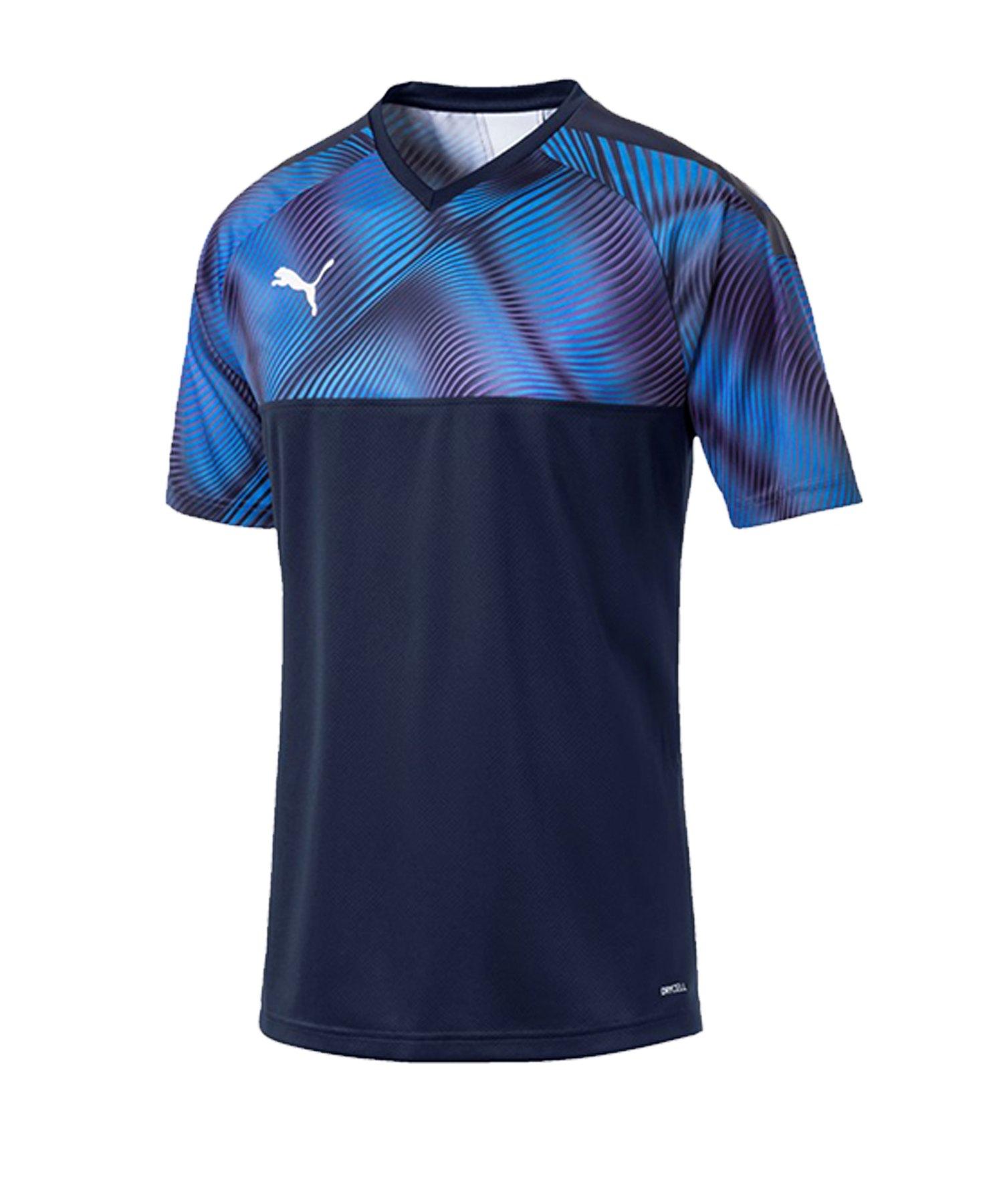 PUMA CUP Jersey Trikot kurzarm Dunkelblau F06 - blau