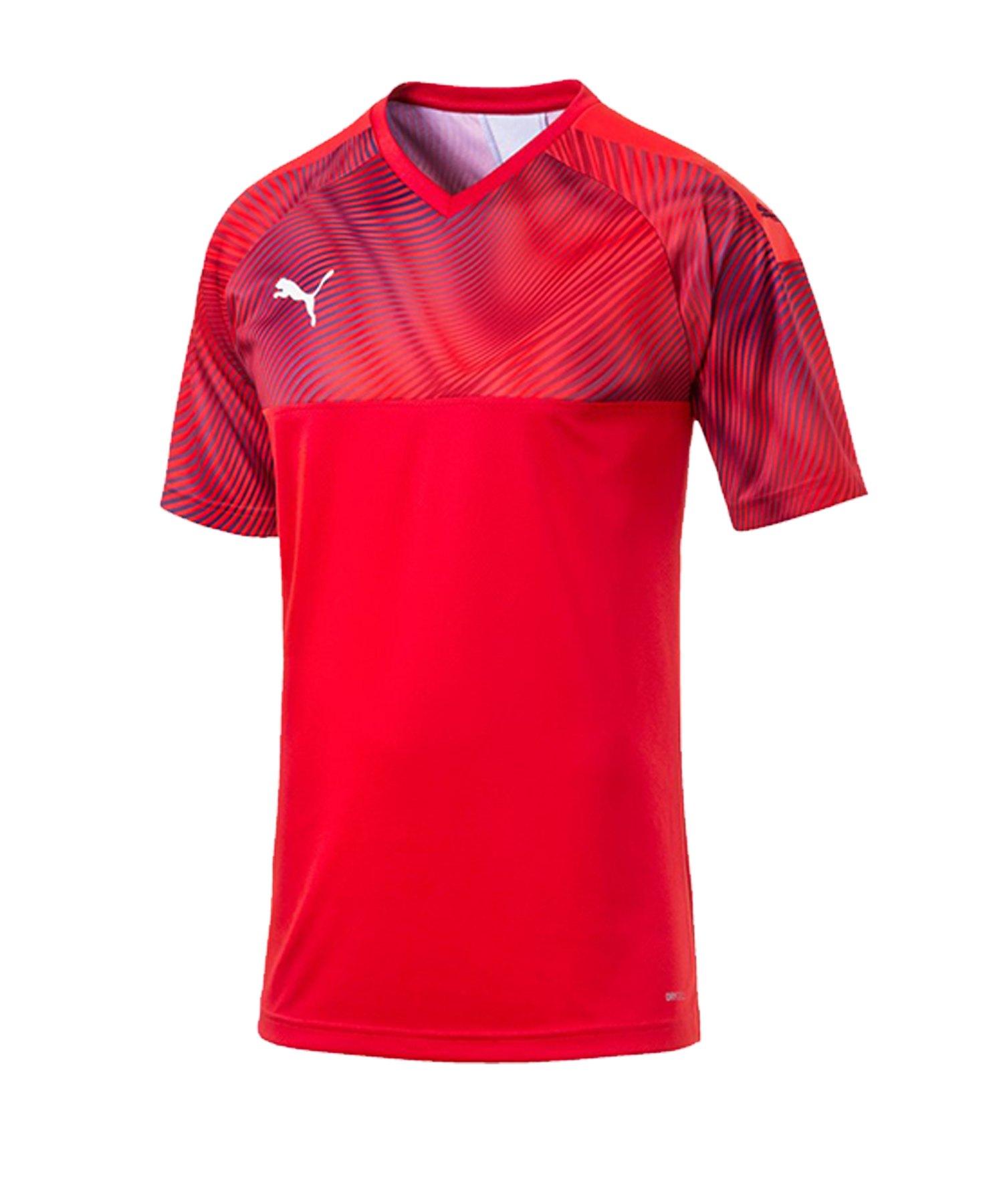 PUMA CUP Jersey Trikot kurzarm Rot F01 - rot
