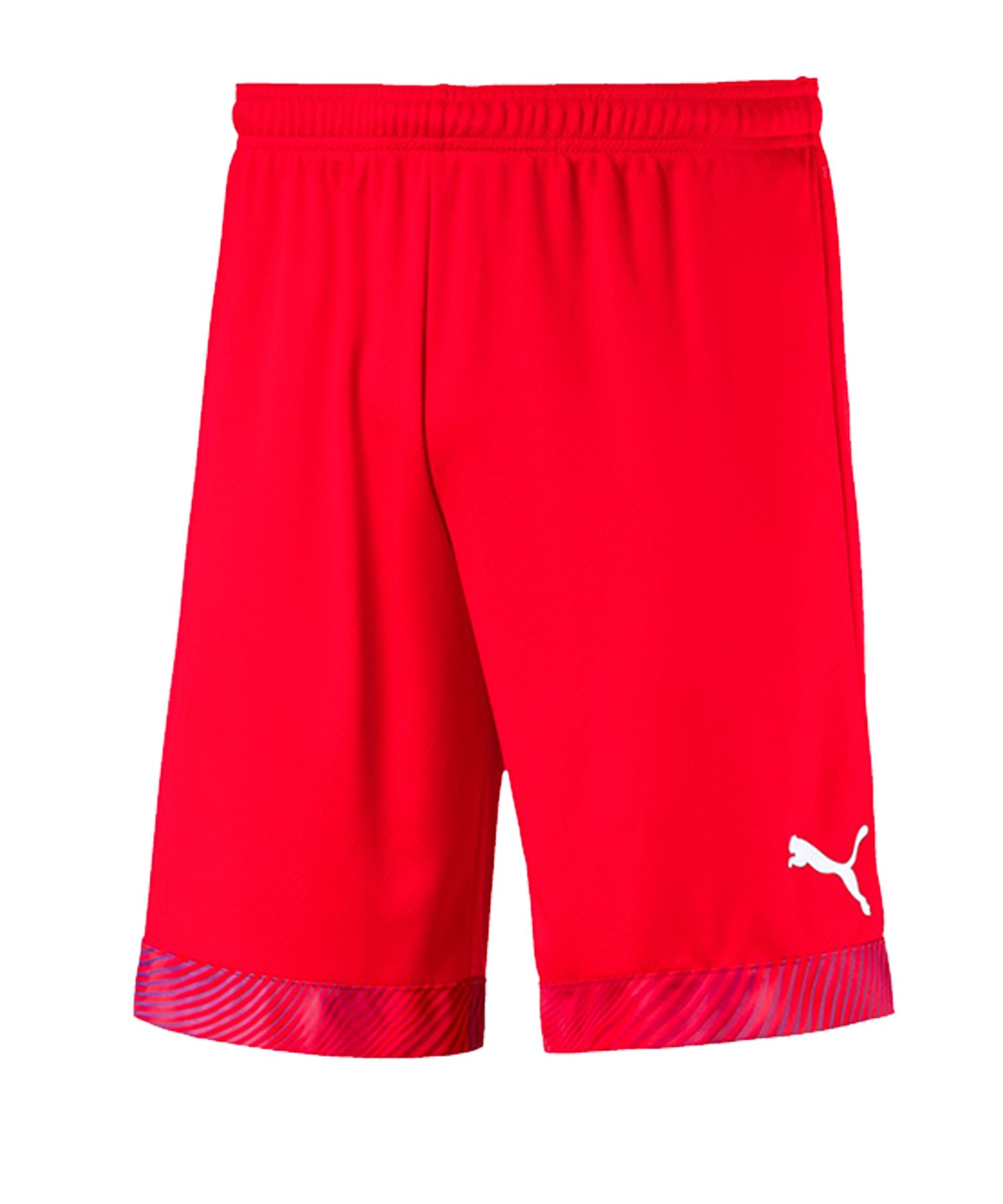 PUMA CUP Short Rot Weiss F01 - rot