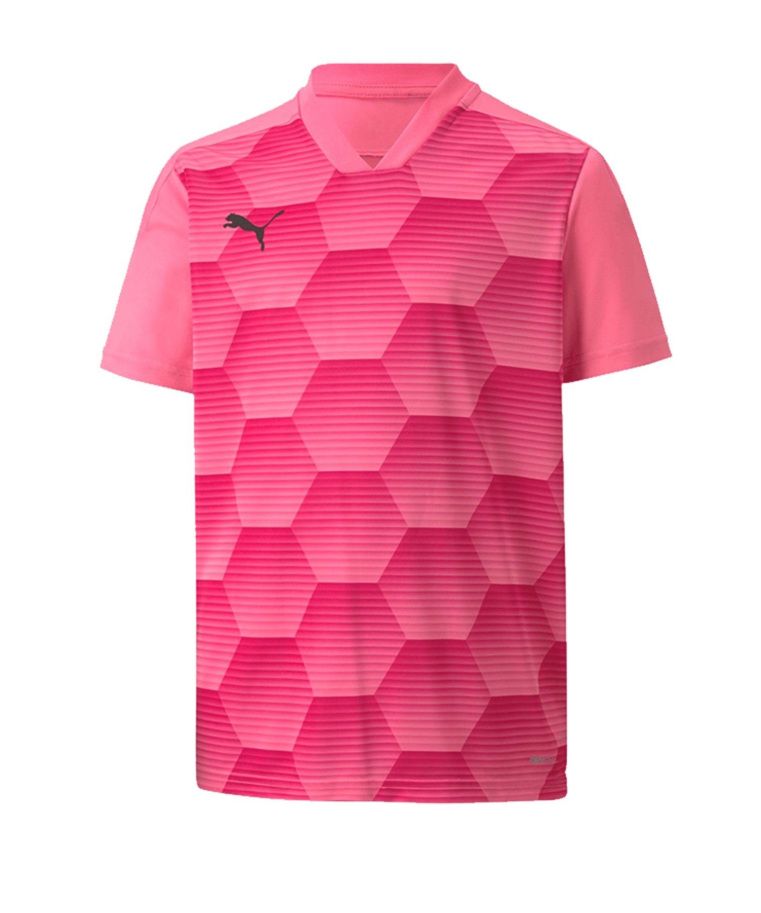 Puma teamFINAL 21 Graphic Trikot kurzarm Pink F22 - pink