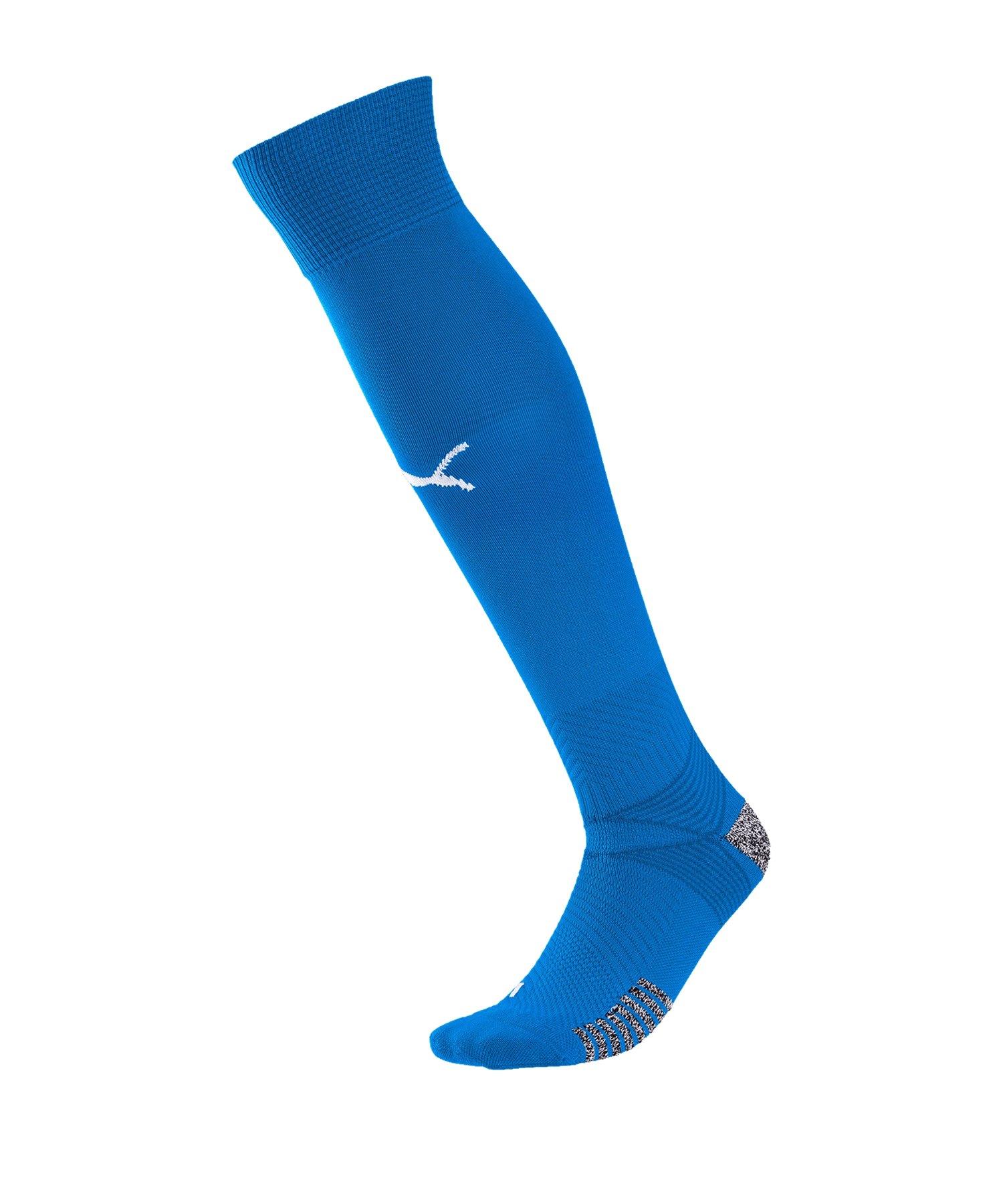 PUMA teamFINAL 21 Socks Stutzenstrümpfe Blau F02 - blau