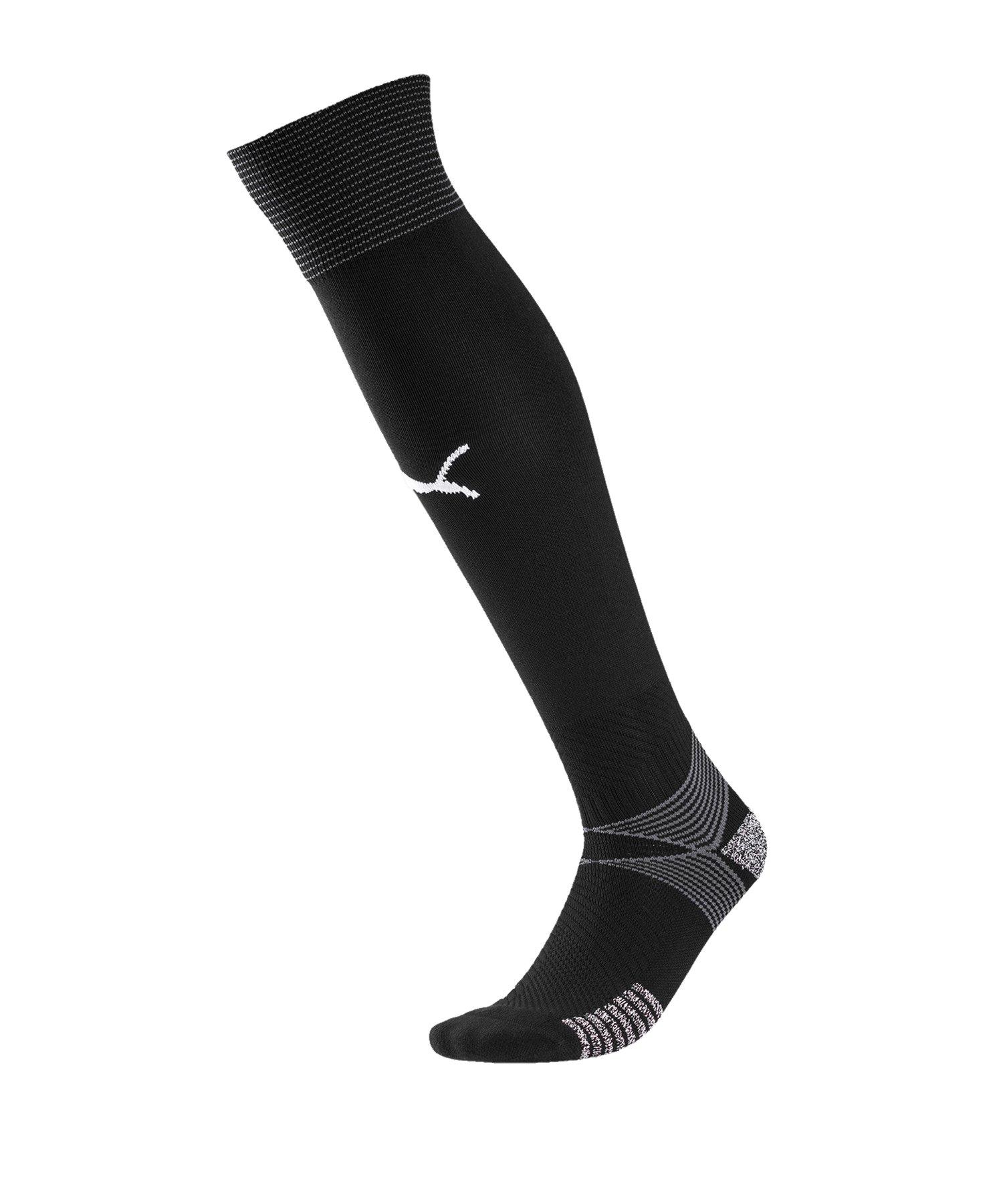 PUMA teamFINAL 21 Socks Stutzenstrümpfe F03 - schwarz