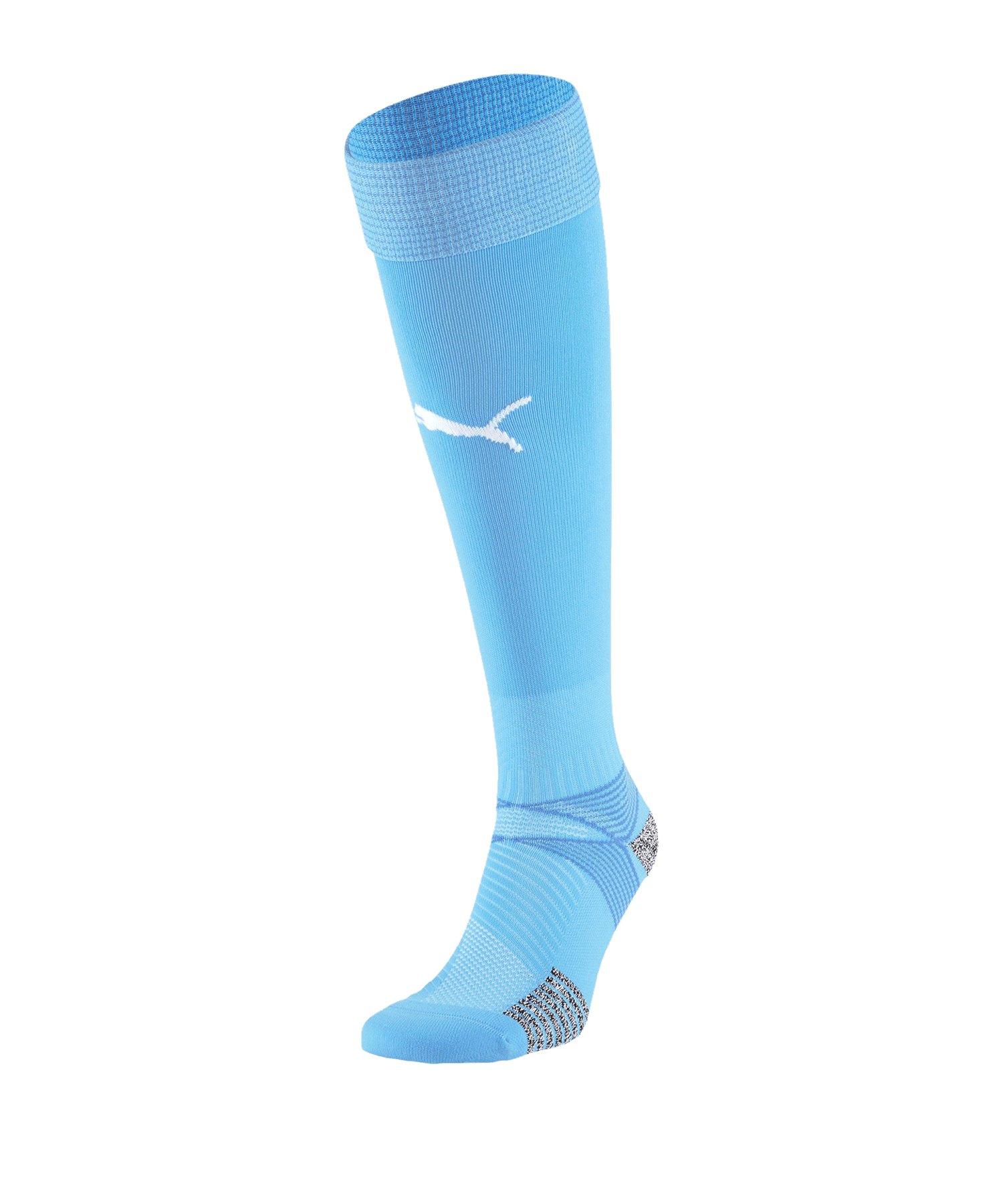 Puma teamFINAL 21 Socks Stutzenstrümpfe F18 - blau