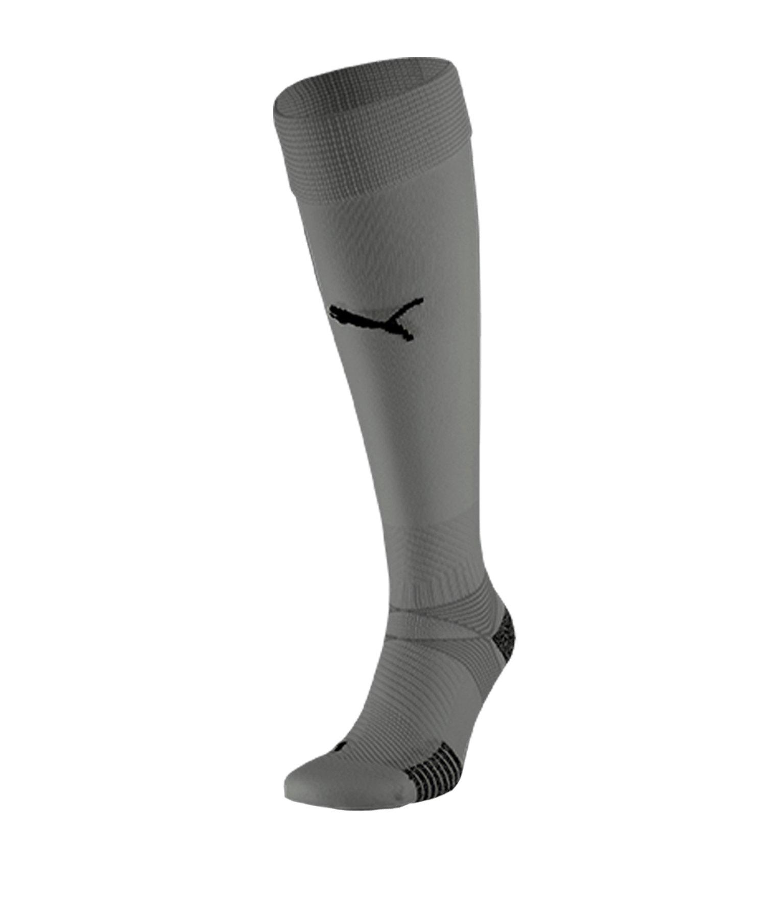 Puma teamFINAL 21 Socks Stutzenstrümpfe Grau F13 - grau