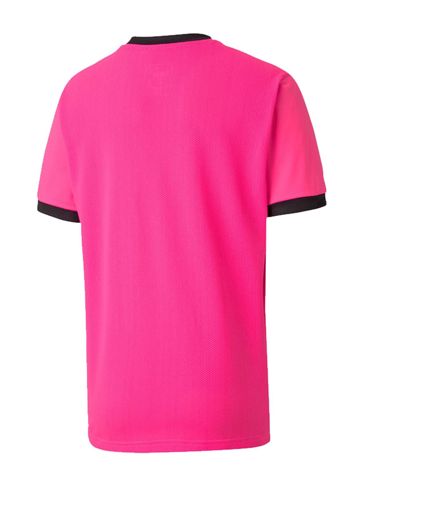 PUMA teamGOAL 23 Trikot kurzarm Kids Pink F25 - pink