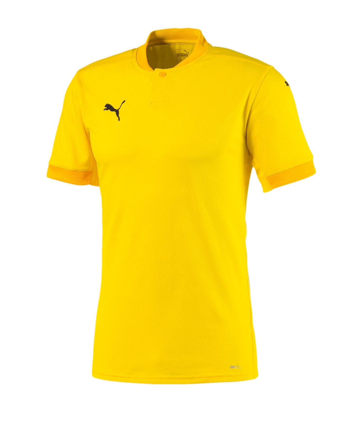 PUMA teamFINAL 21 Trikot kurzarm Gelb F07 - gelb