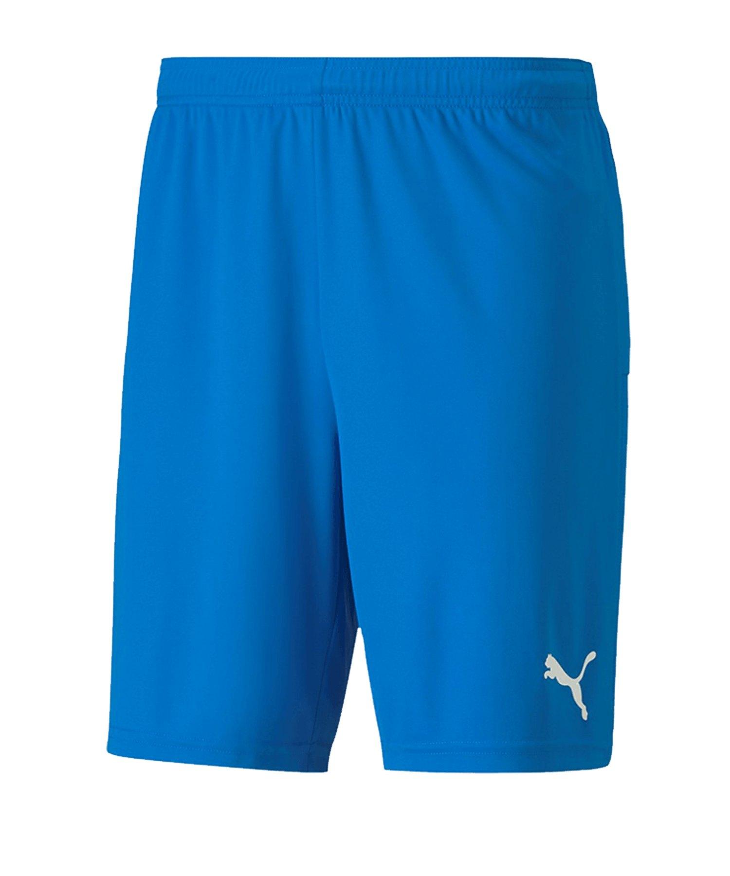 PUMA teamGOAL 23 Knit Short Blau F02 - blau