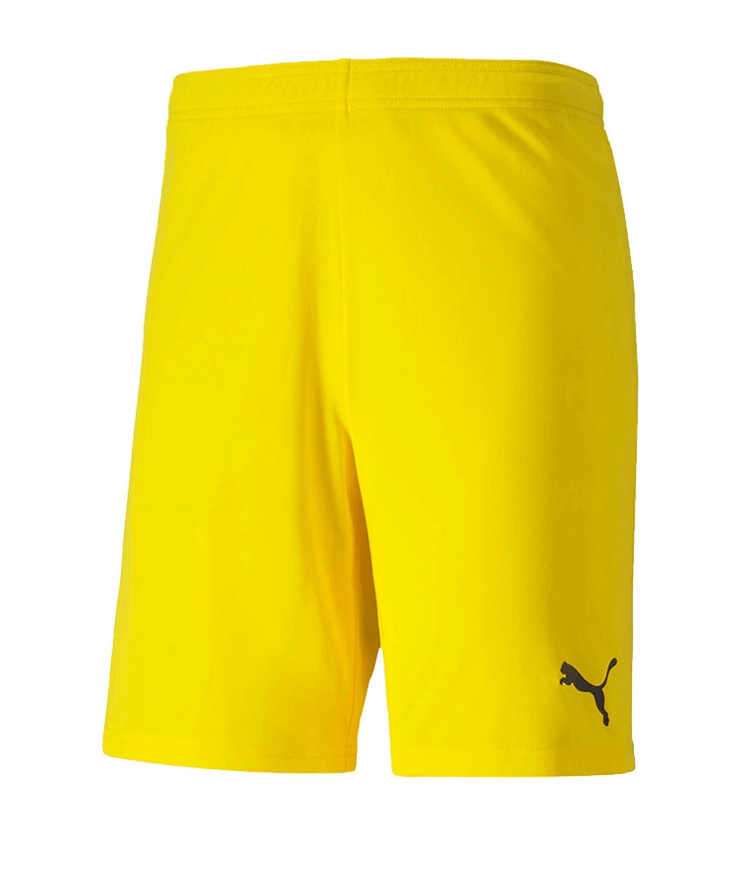 PUMA teamGOAL 23 Knit Short Gelb F07 - gelb