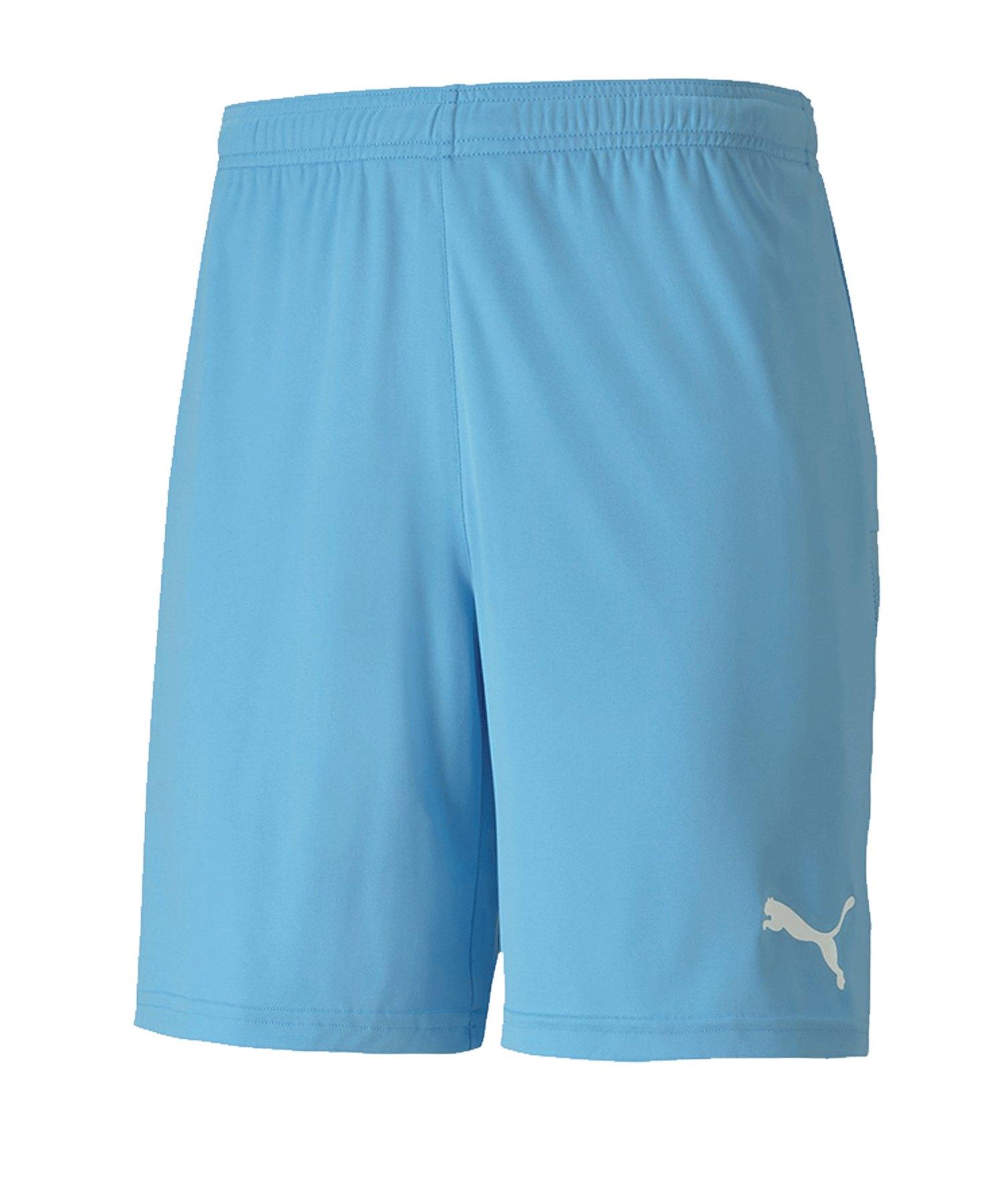 PUMA teamGOAL 23 Knit Short Hellblau F18 - blau