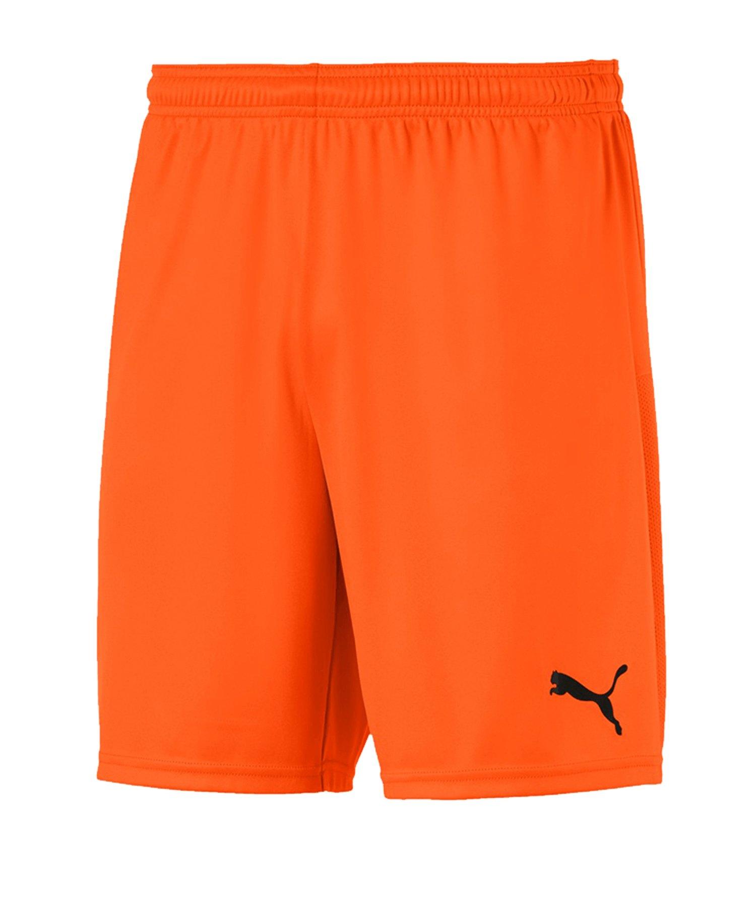 PUMA teamGOAL 23 Knit Short Orange F08 - orange