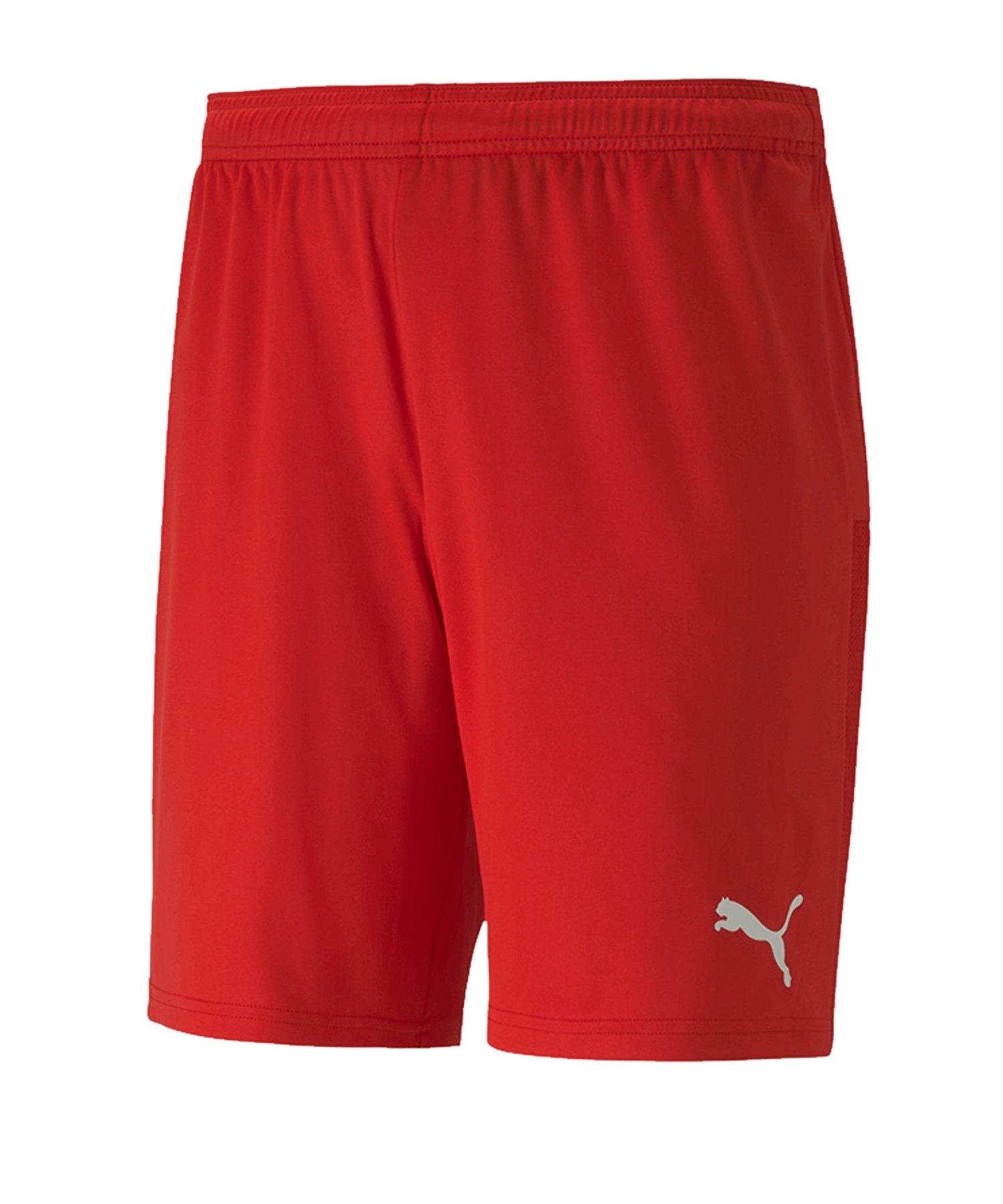 PUMA teamGOAL 23 Knit Short Rot F01 - rot
