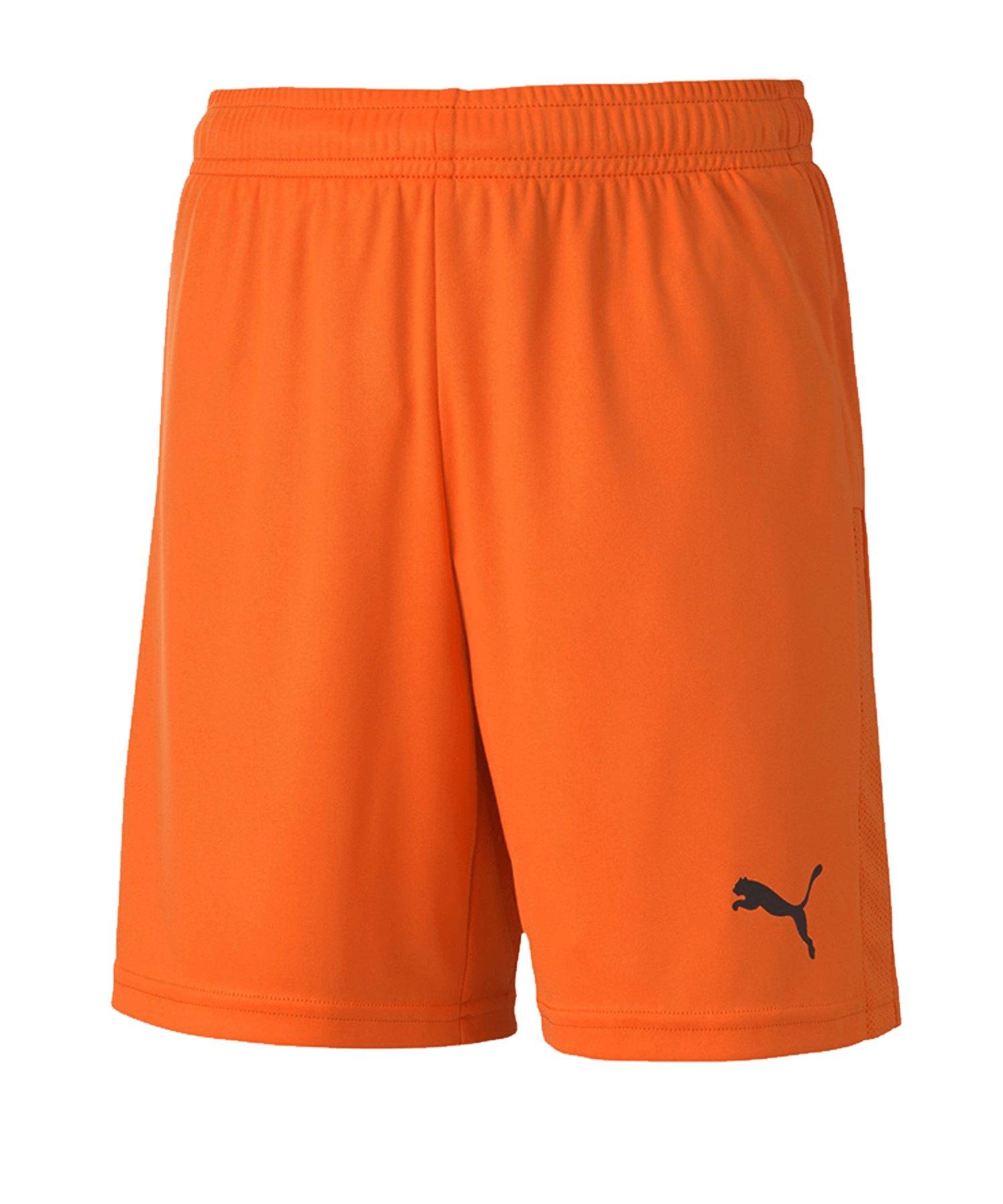 PUMA teamGOAL 23 Knit Short Kids Orange F08 - orange