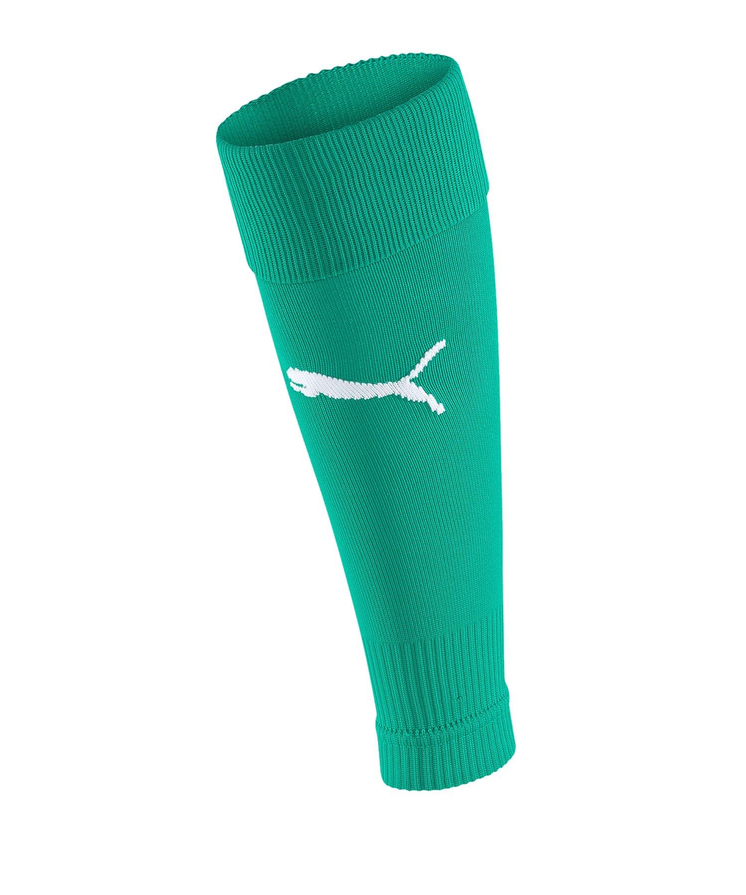 PUMA teamGOAL 23 Sleeve Socks Grün F05 - Gruen