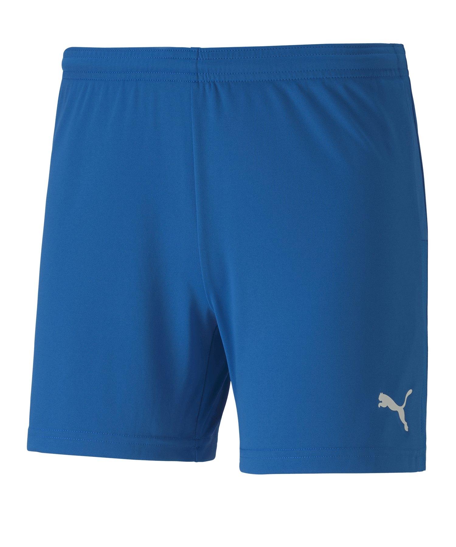 PUMA teamGOAL 23 Knit Shorts Damen Blau F02 - blau