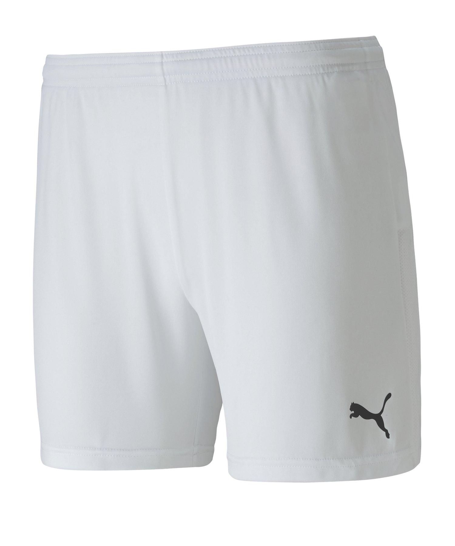 PUMA teamGOAL 23 Knit Shorts Damen Weiss F04 - weiss