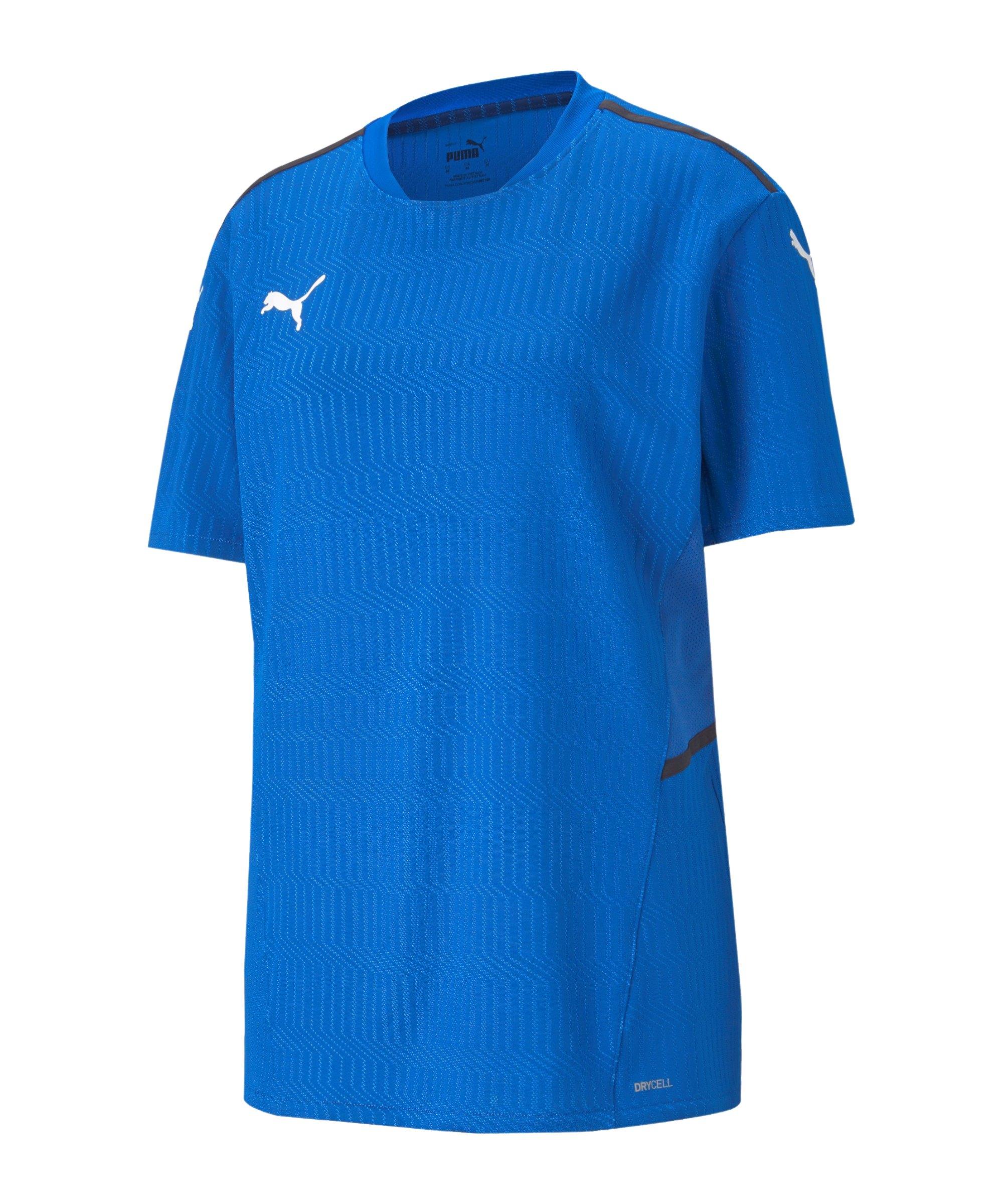 PUMA teamCUP Trikot Blau F02 - blau