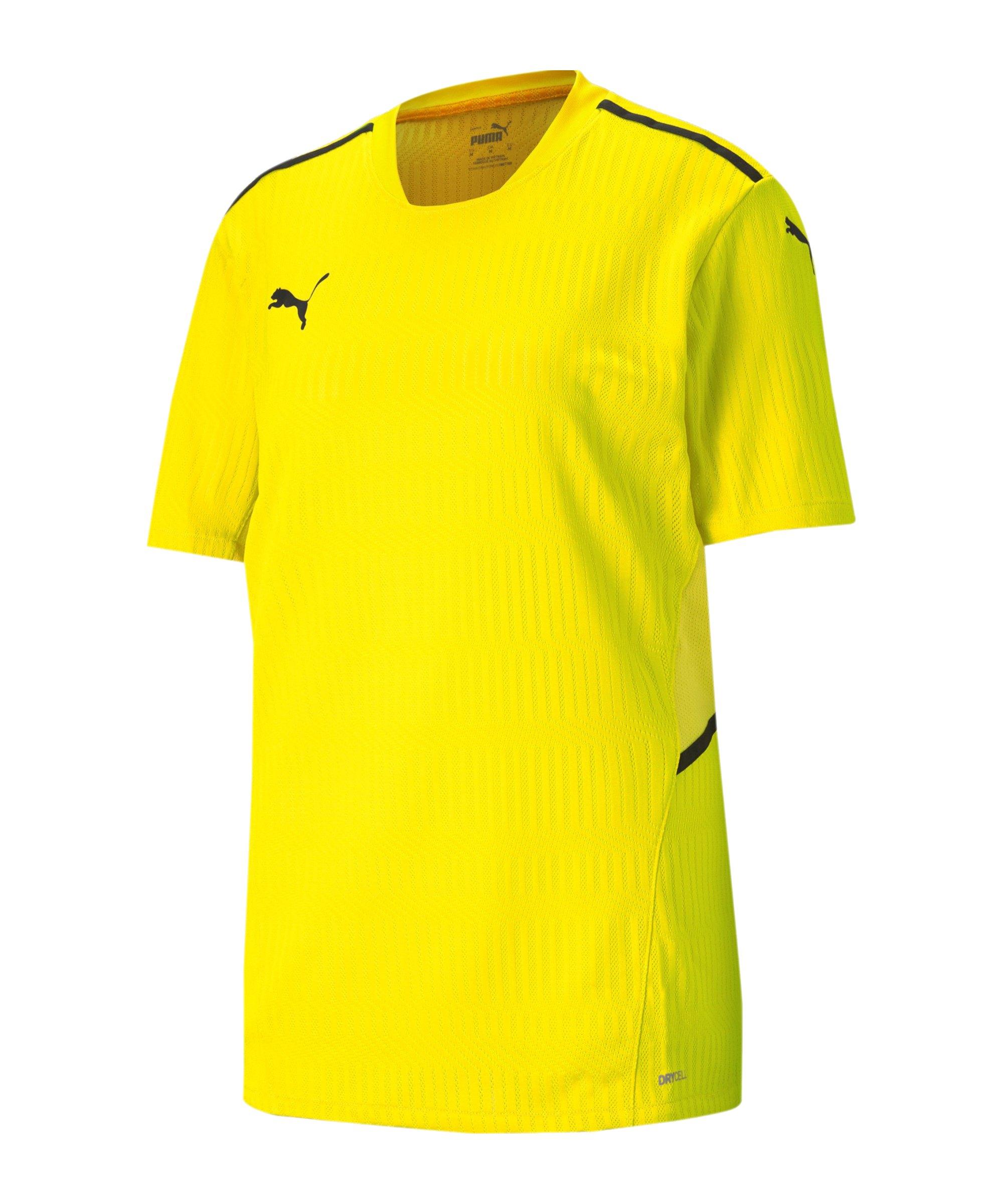 PUMA teamCUP Trikot Gelb F07 - gelb