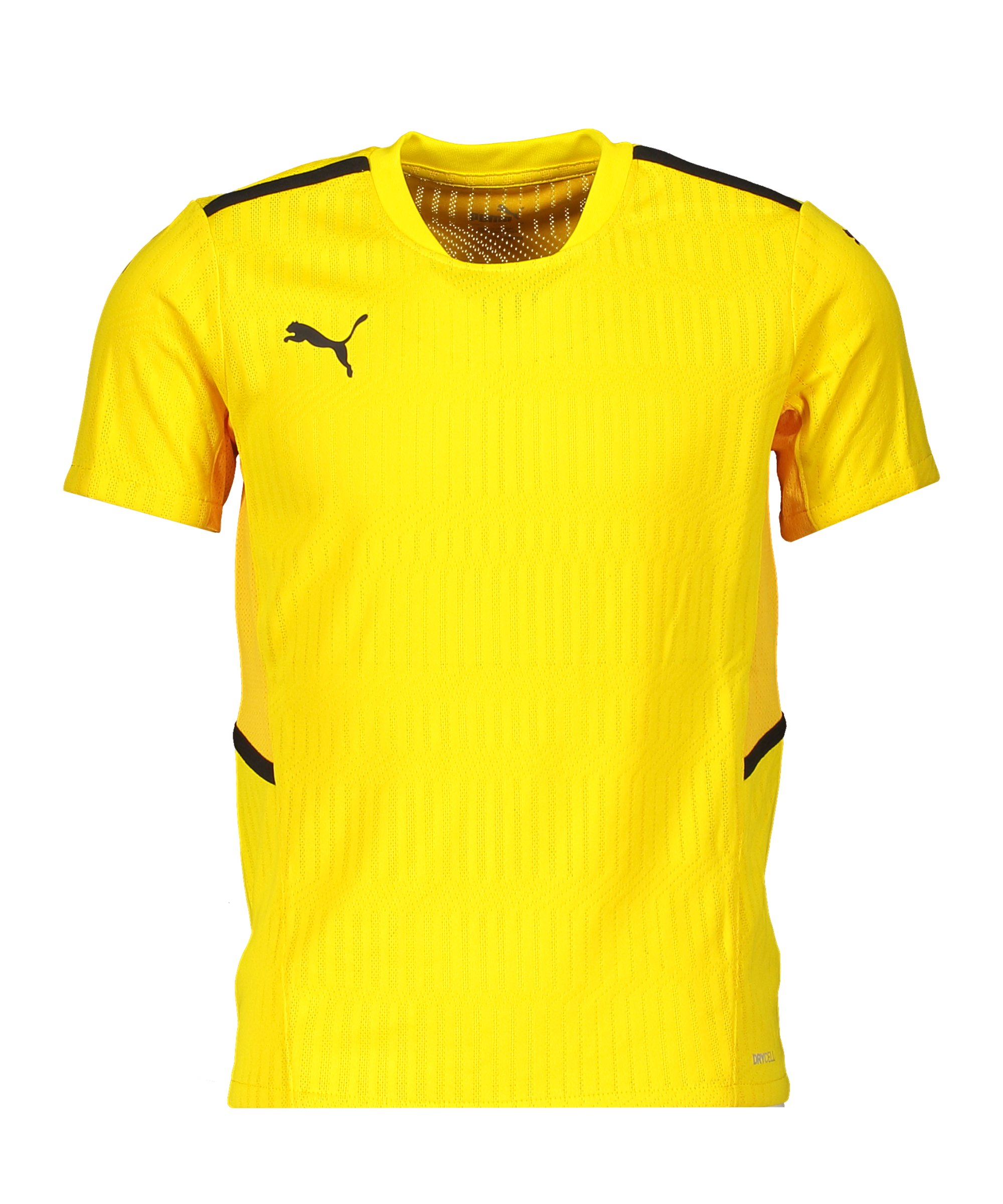 PUMA teamCUP Trikot Kids Gelb F07 - gelb