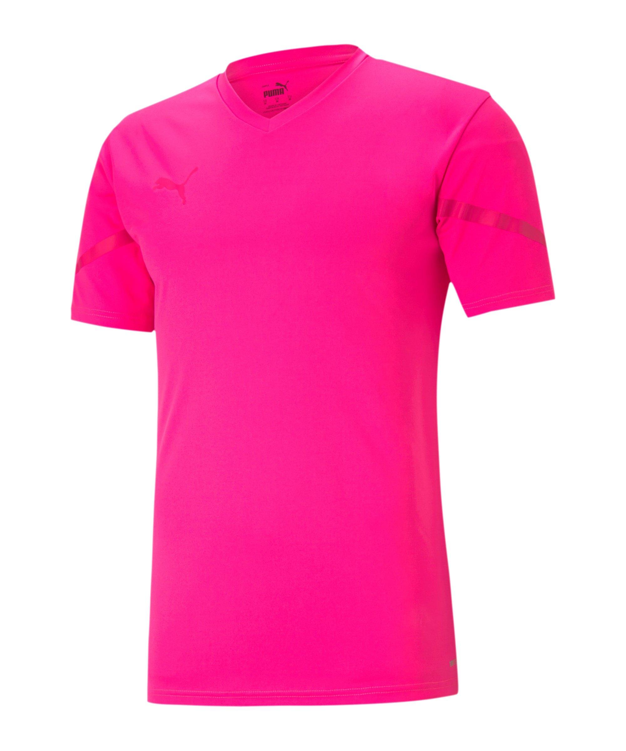 PUMA teamFLASH Trikot Pink F25 - pink