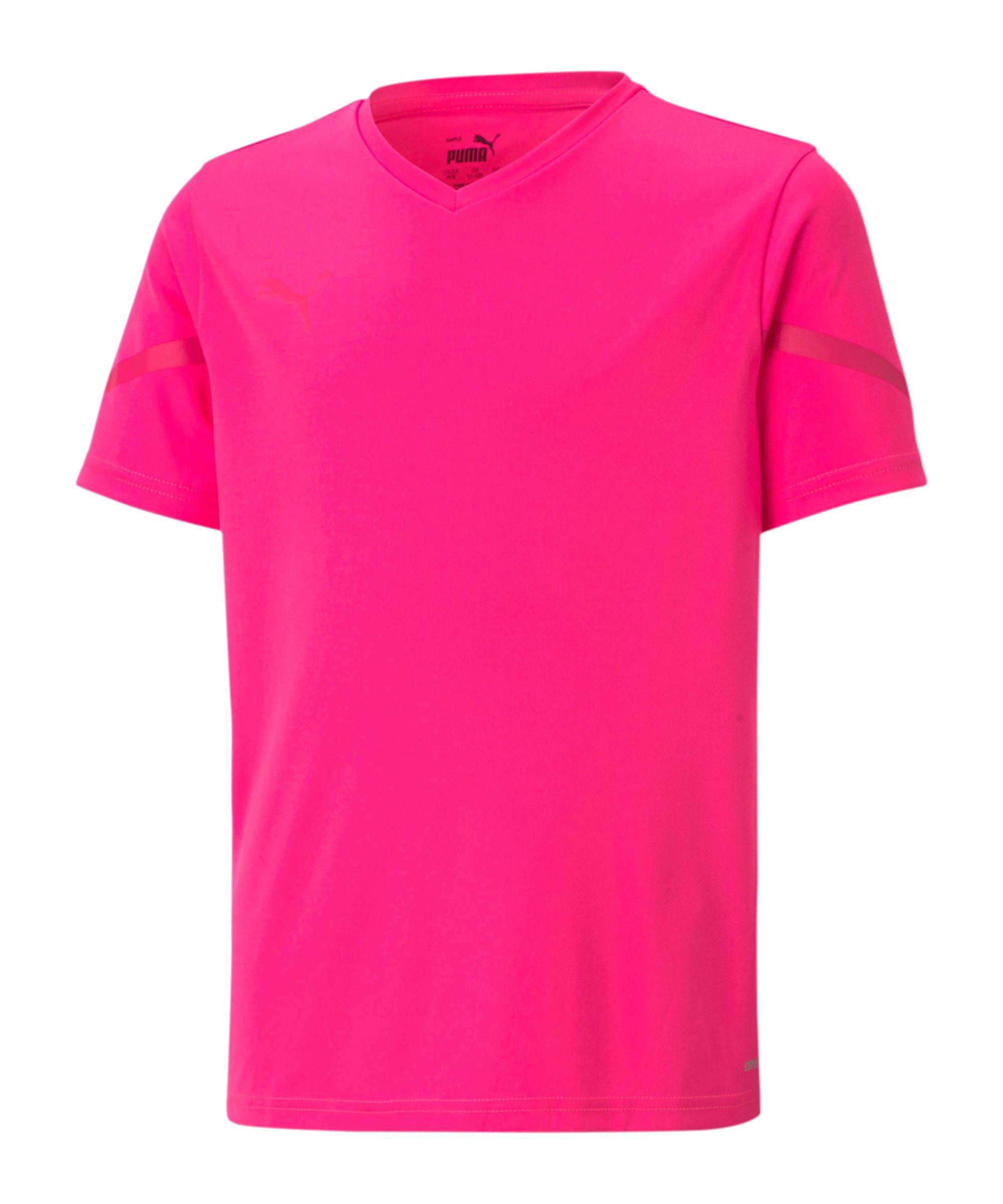 PUMA teamFLASH Trikot Kids Pink F25 - pink