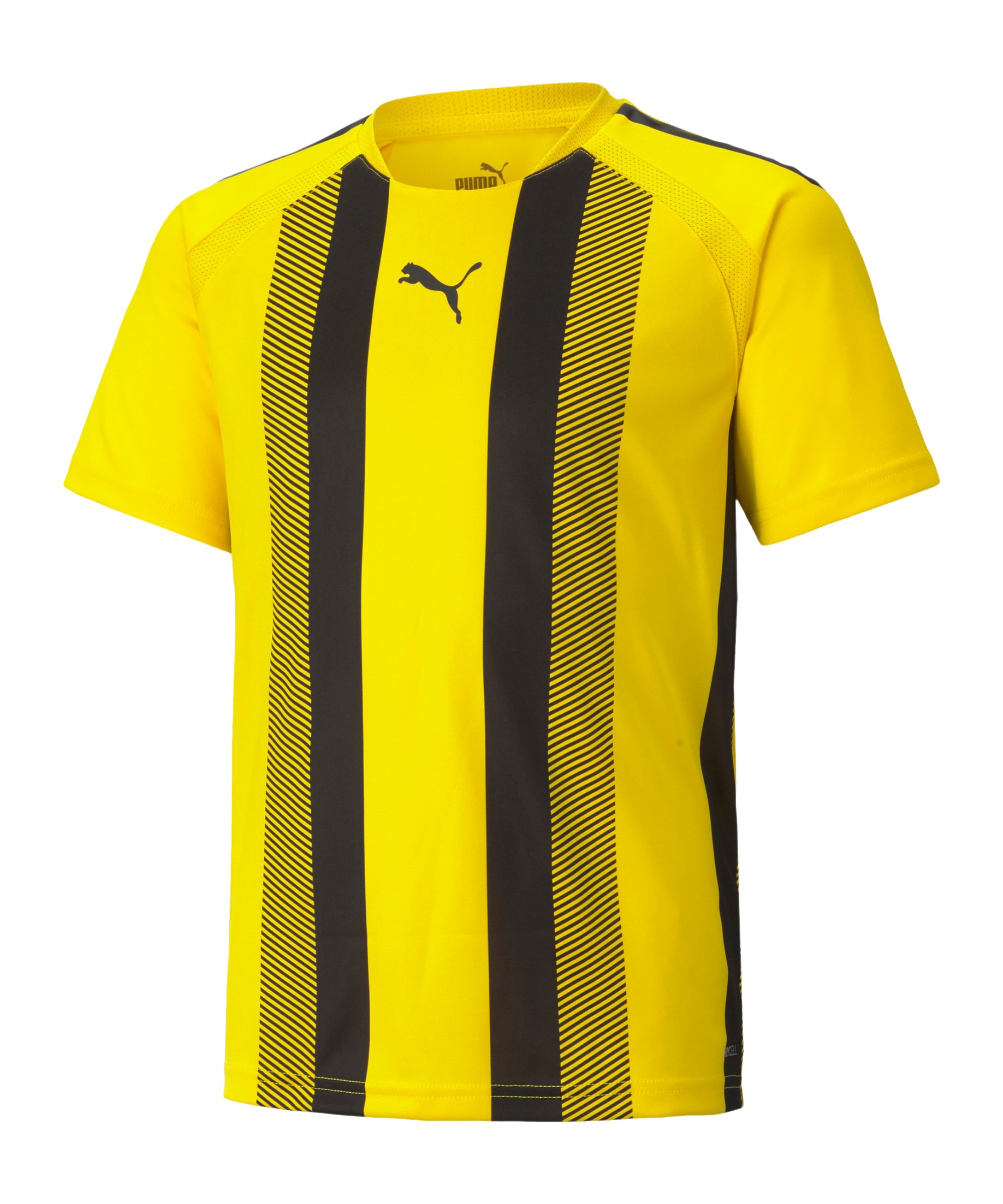 PUMA teamLIGA Striped Trikot Kids Gelb Schwarz F07 - gelb