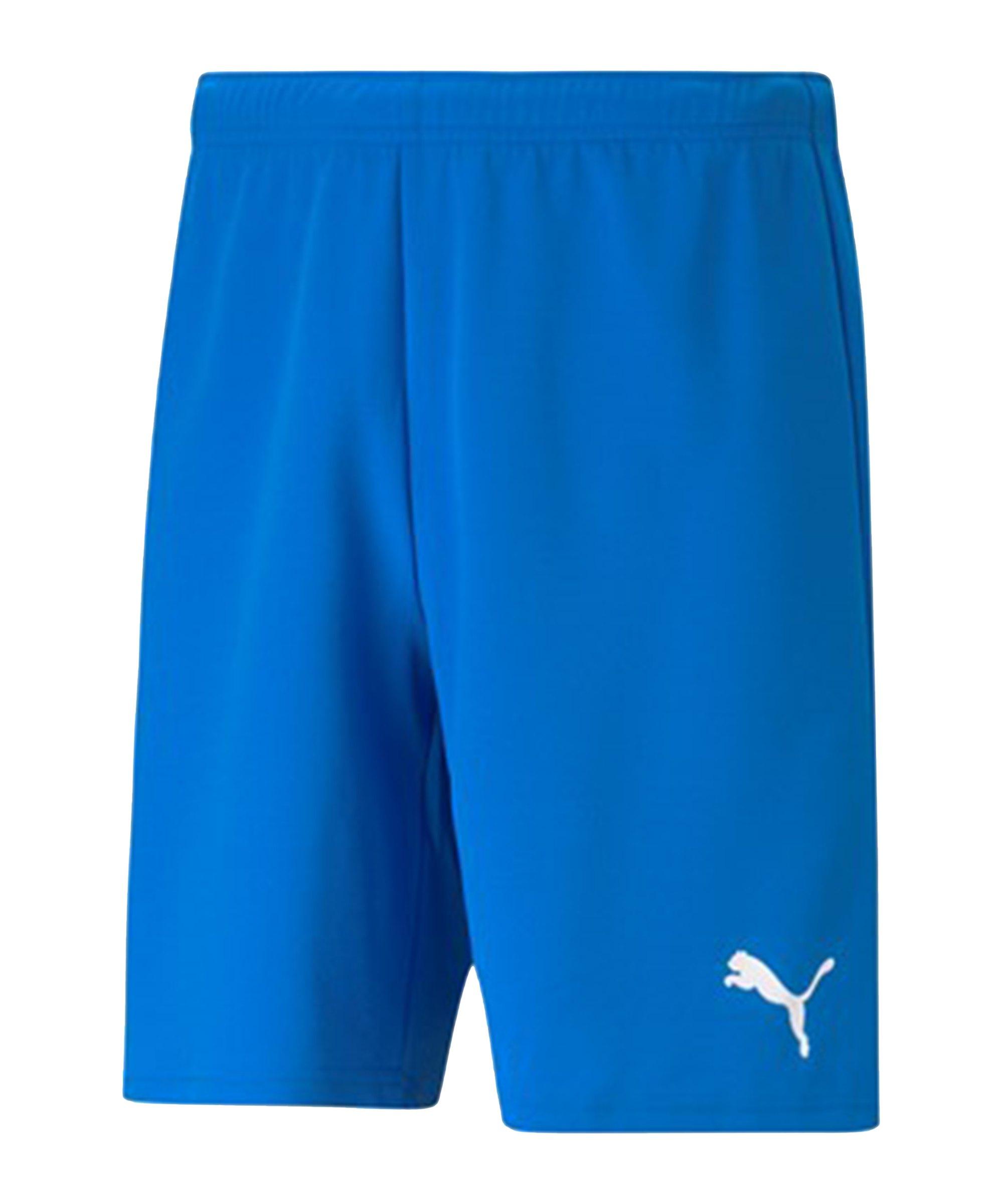 PUMA teamRISE Short Blau Weiss F02 - blau