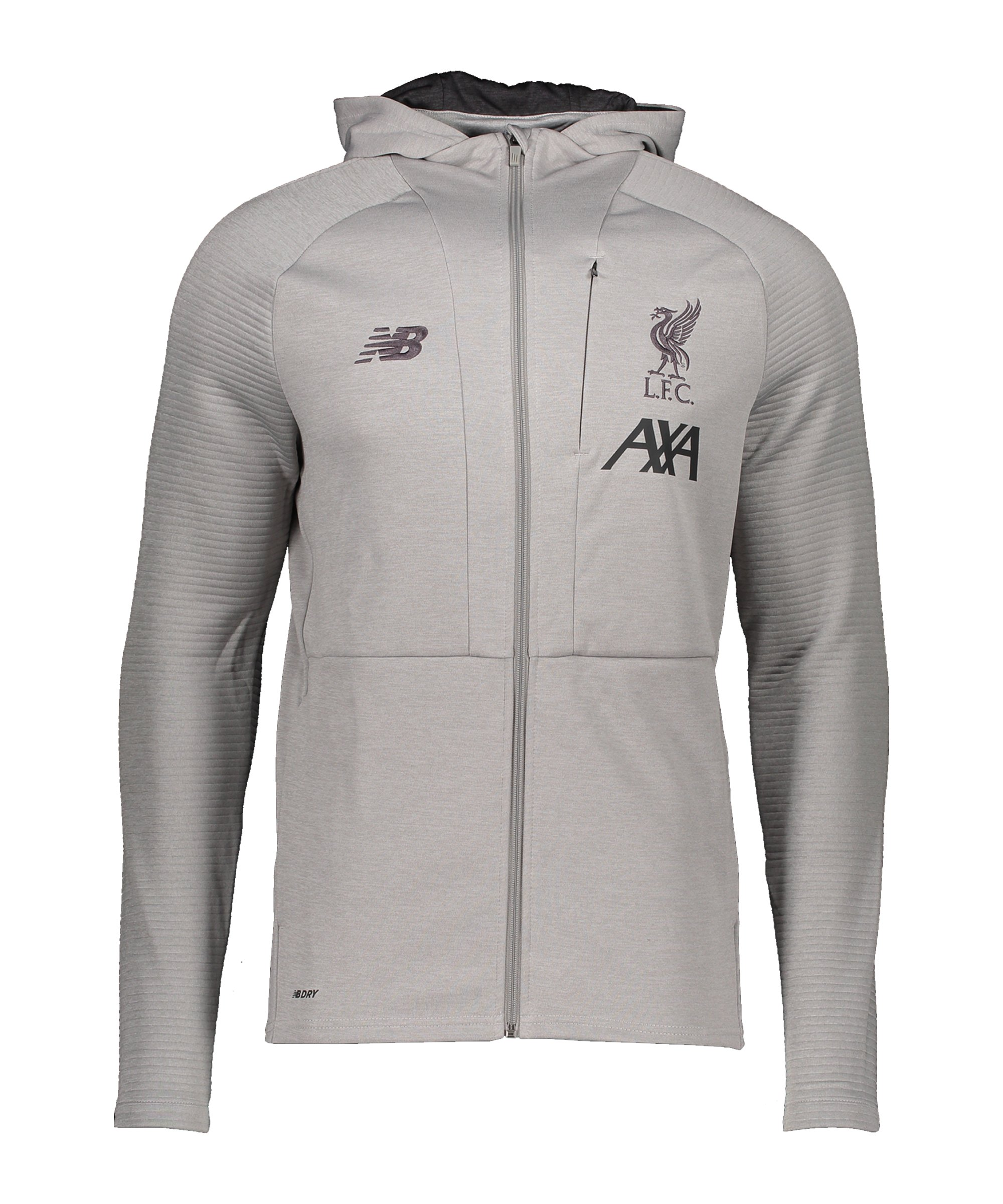 New Balance FC Liverpool Kapuzenpullover F123 - grau