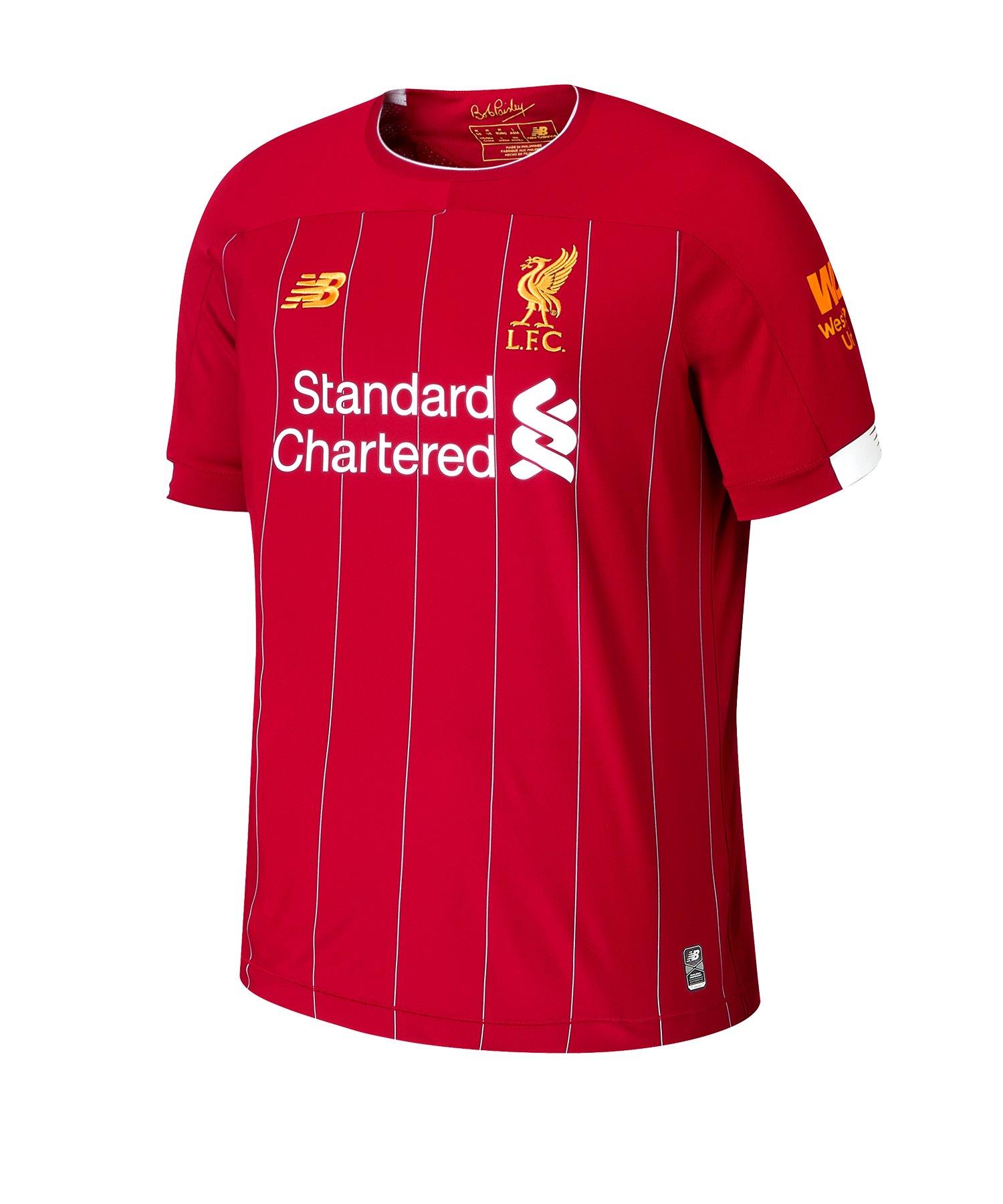 New Balance FC Liverpool Trikot Home Kids 2019/ 2020 Rot - rot