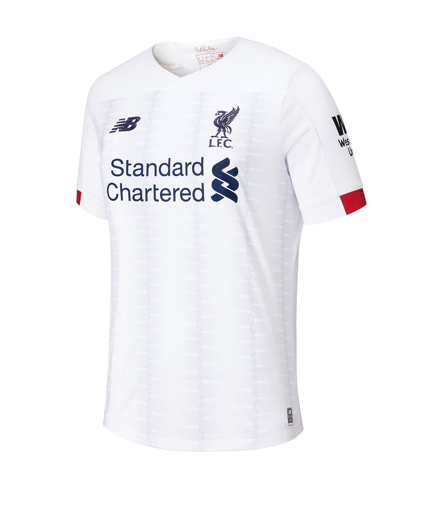 New Balance FC Liverpool Trikot Away 2019/2020 Weiss - weiss