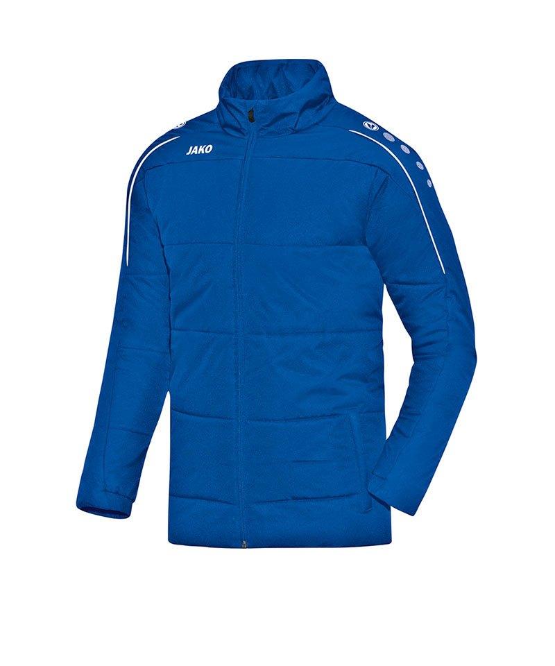 Jako Coachjacke Classico Blau F04 - blau