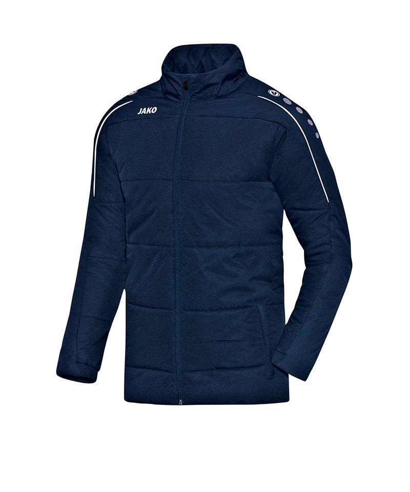Jako Coachjacke Classico Blau F09 - blau