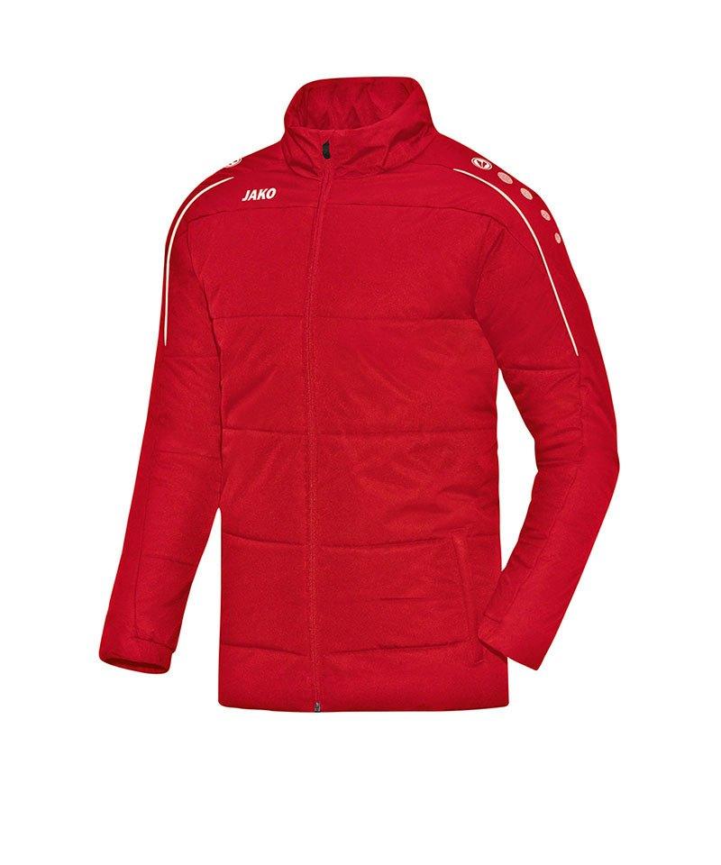 Jako Coachjacke Classico Kinder Rot F01 - rot