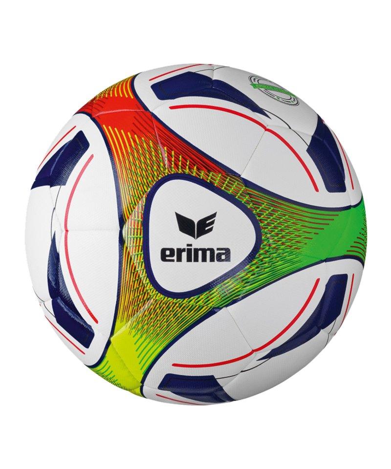 Erima Fussball Hybrid Training Blau Rot - blau