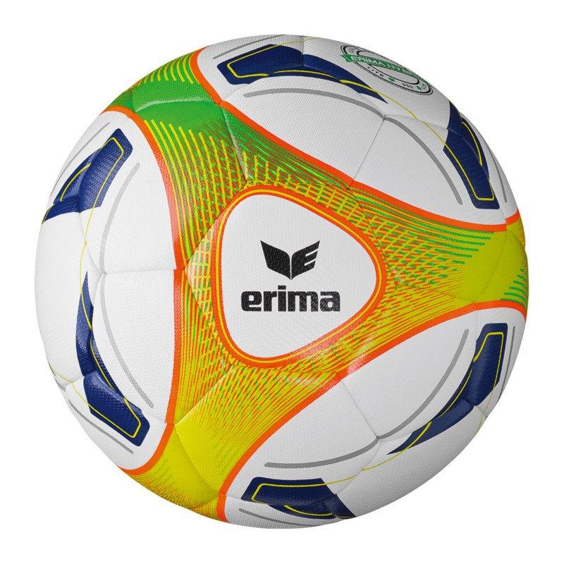 Erima Fussball Hybrid Lite 350 Gramm Weiss Orange - weiss