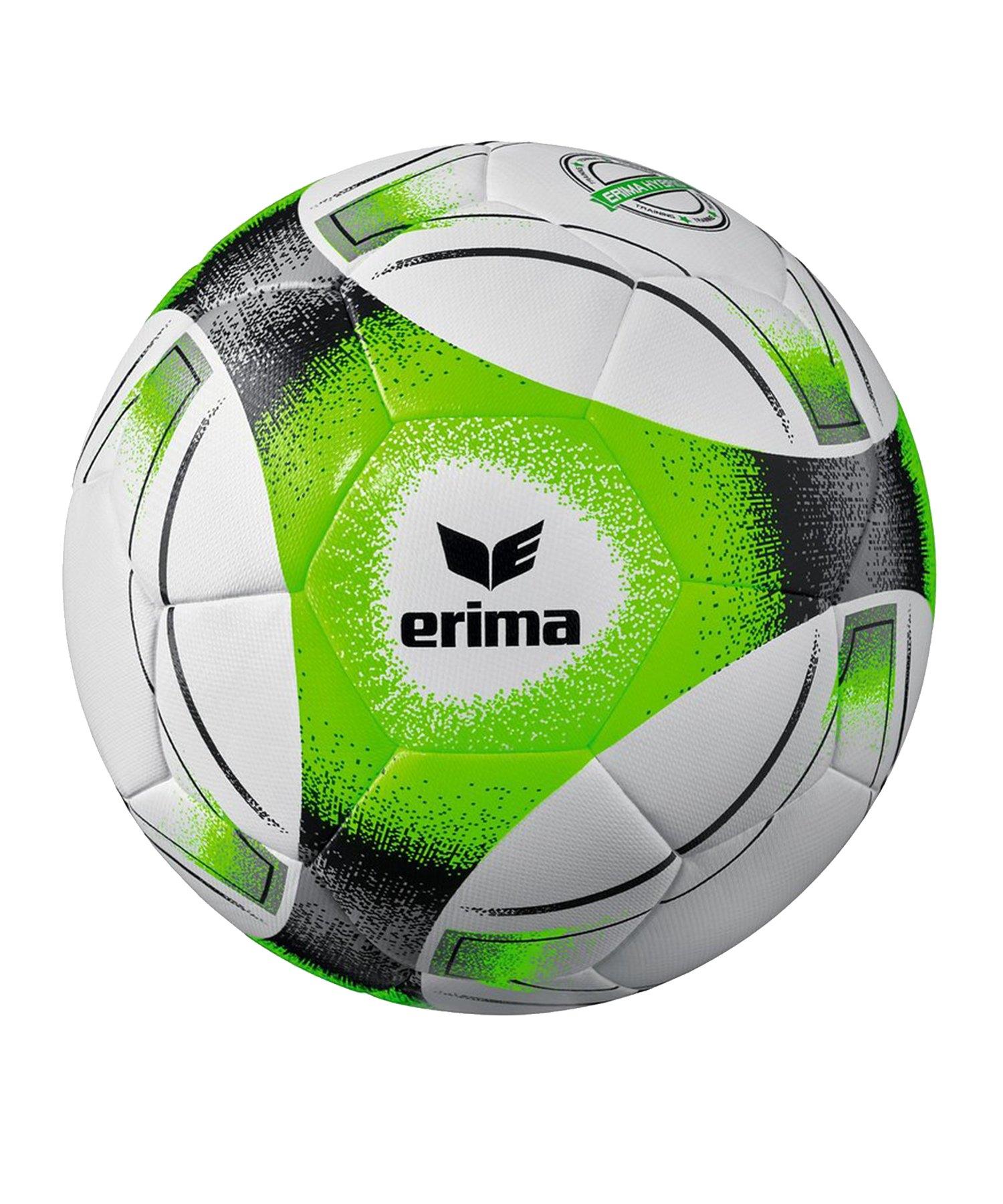Erima Hybrid Training Fussball Schwarz Grün - gruen