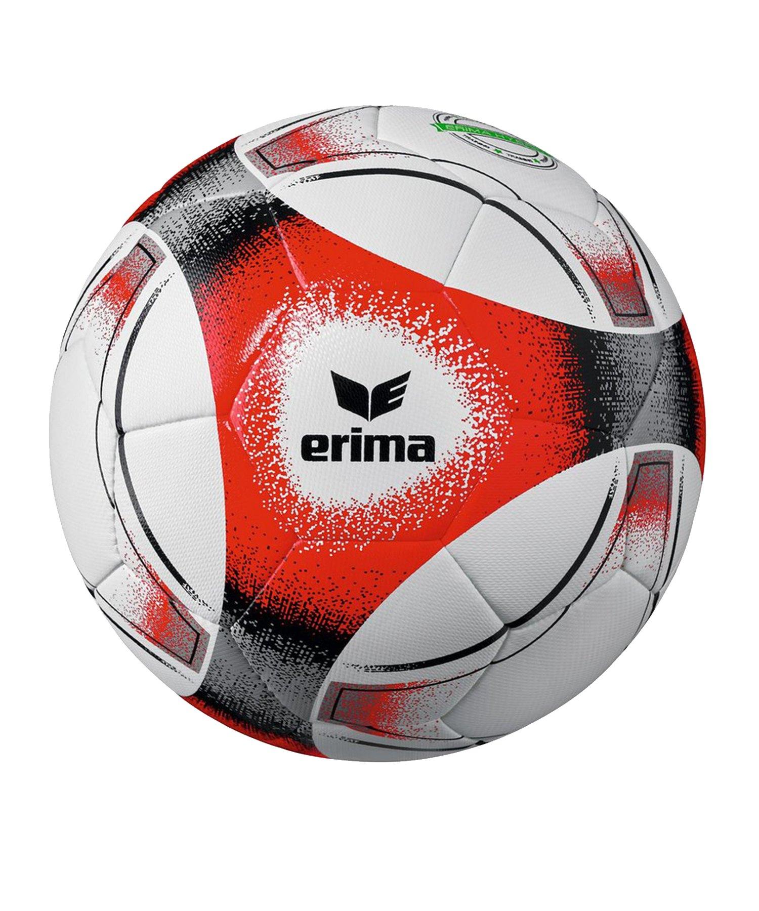 Erima Hybrid Training Fussball Rot Schwarz - rot