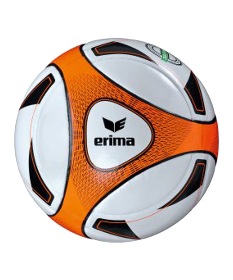Erima Spielball Hybrid Match Weiss Orange - weiss