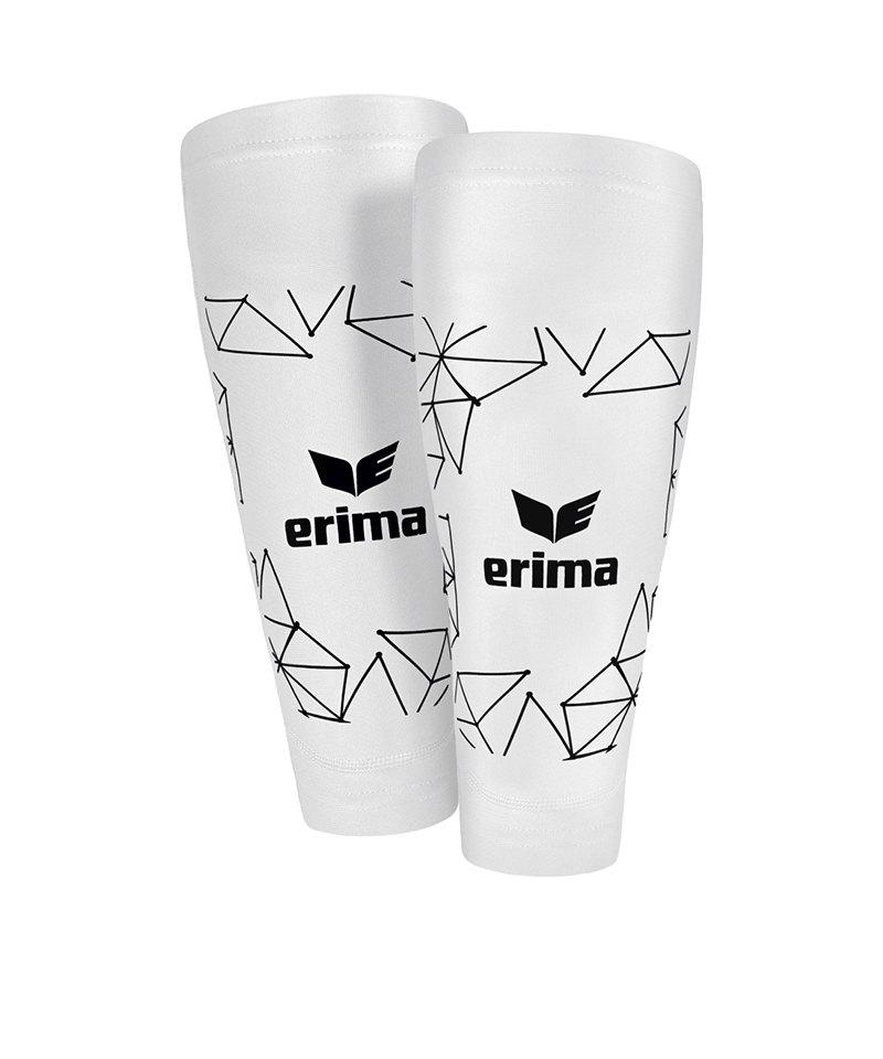 Erima Tube Sock 2.0 Schienbeinschoner Weiss - weiss