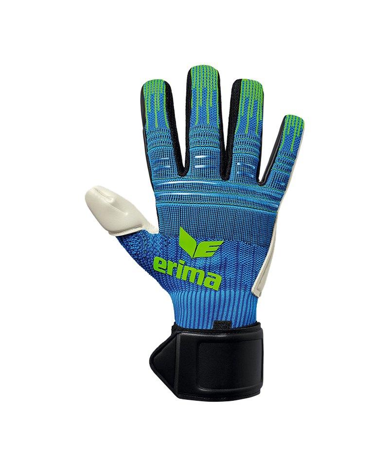 Erima Flexinator Ultra Knit TW-Handschuh Blau - blau