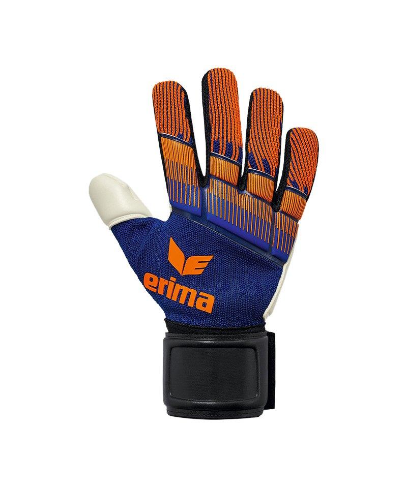 Erima Flexinator Knit TW-Handschuh Blau Orange - blau