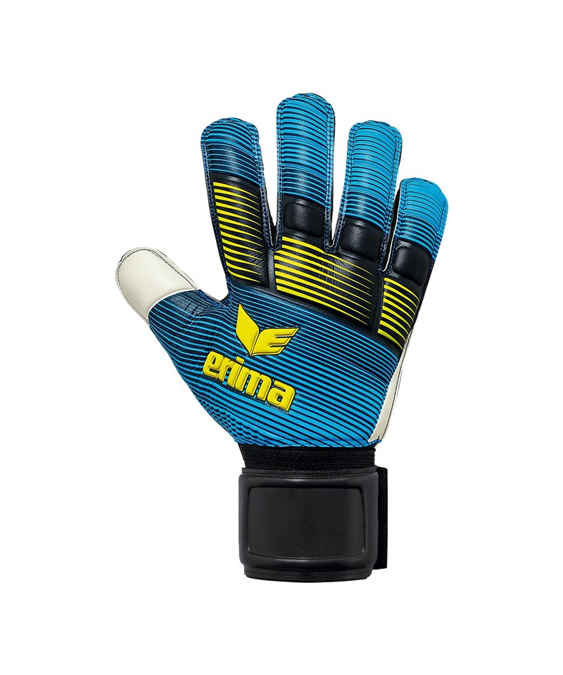 Erima Skinator Protect TW-Handschuh Schwarz Blau - schwarz