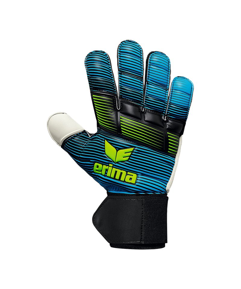 Erima Skinator Match RF TW-Handschuh Blau Grün - blau