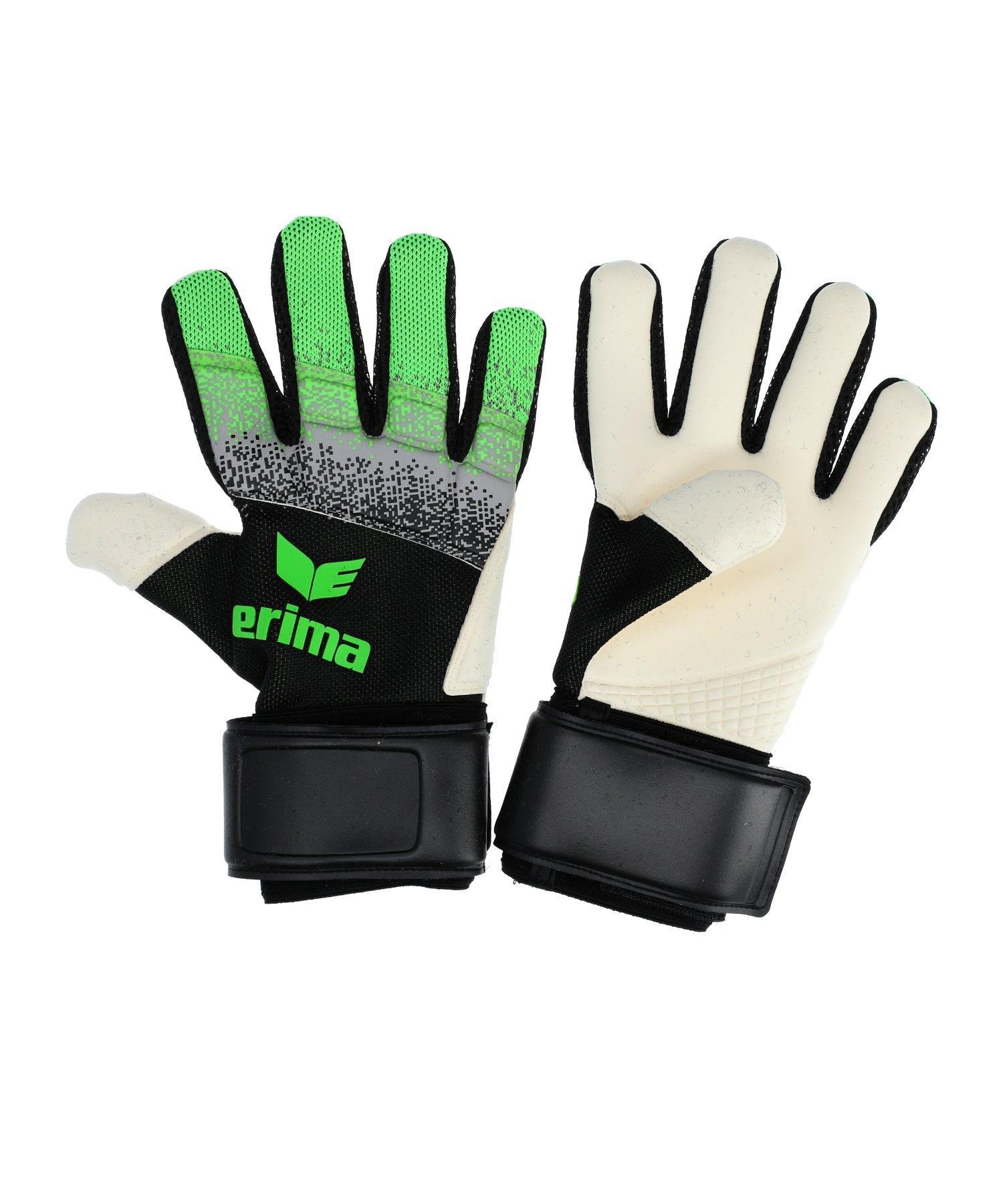 Erima Flexinator Knit TW-Handschuh Schwarz - schwarz