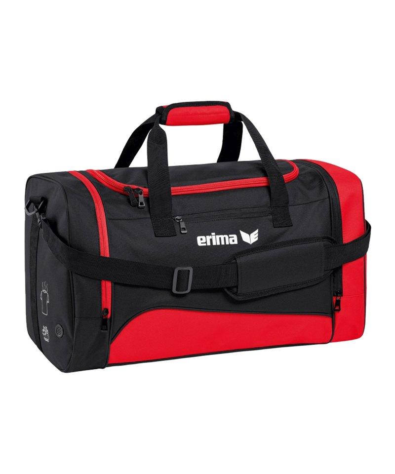 Erima Sportsbag Club 1900 2.0 Gr.L Rot Schwarz - rot