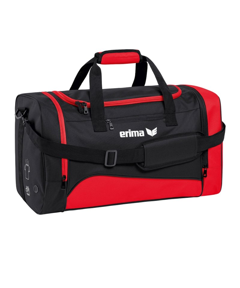 Erima Sportsbag Club 1900 2.0 Gr.S Rot Schwarz - rot