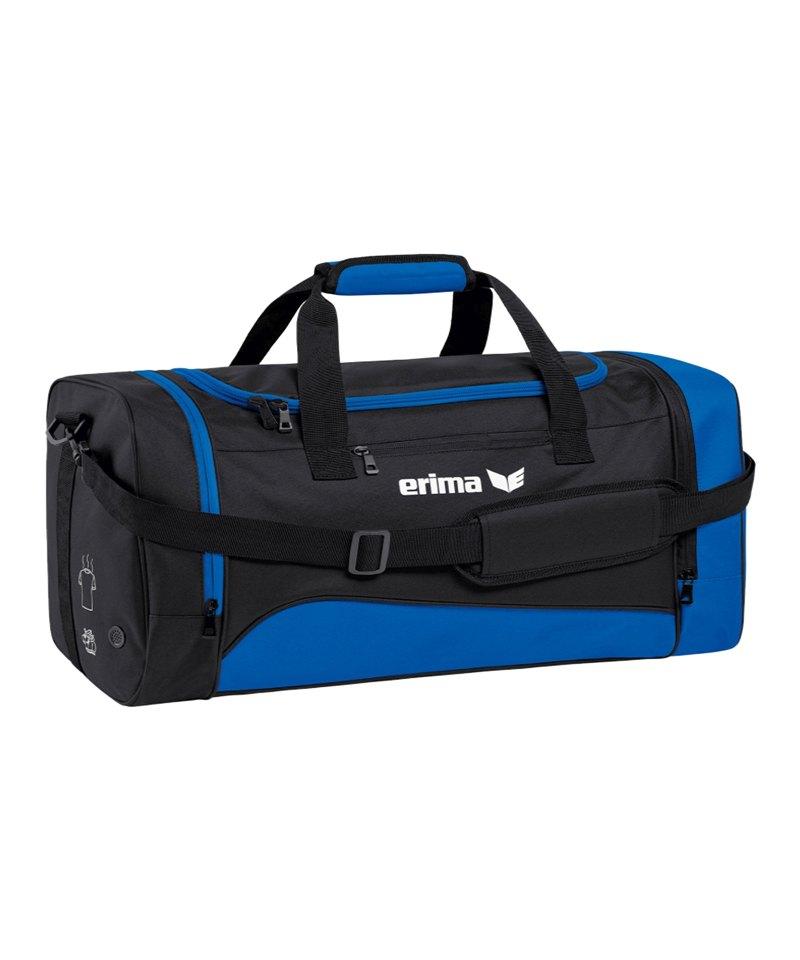 Erima Sportsbag Club 1900 2.0 Gr.L Blau Schwarz - blau