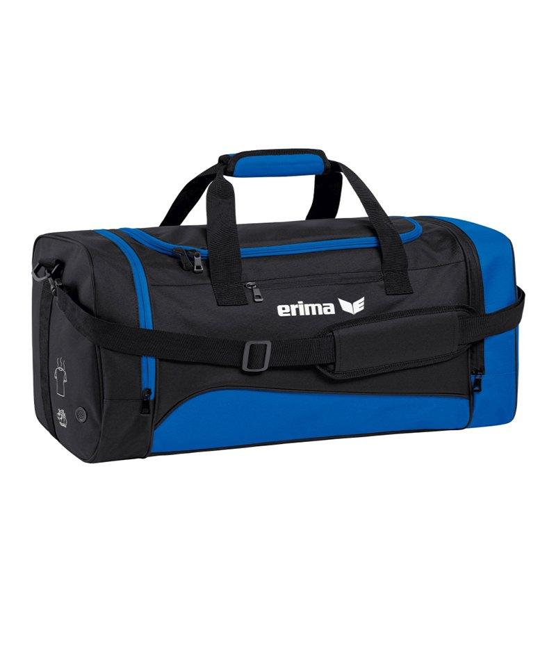 Erima Sportsbag Club 1900 2.0 Gr.M Blau Schwarz - blau