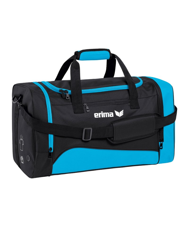 Erima Sportsbag Club 1900 2.0 Gr.M Hellblau - blau