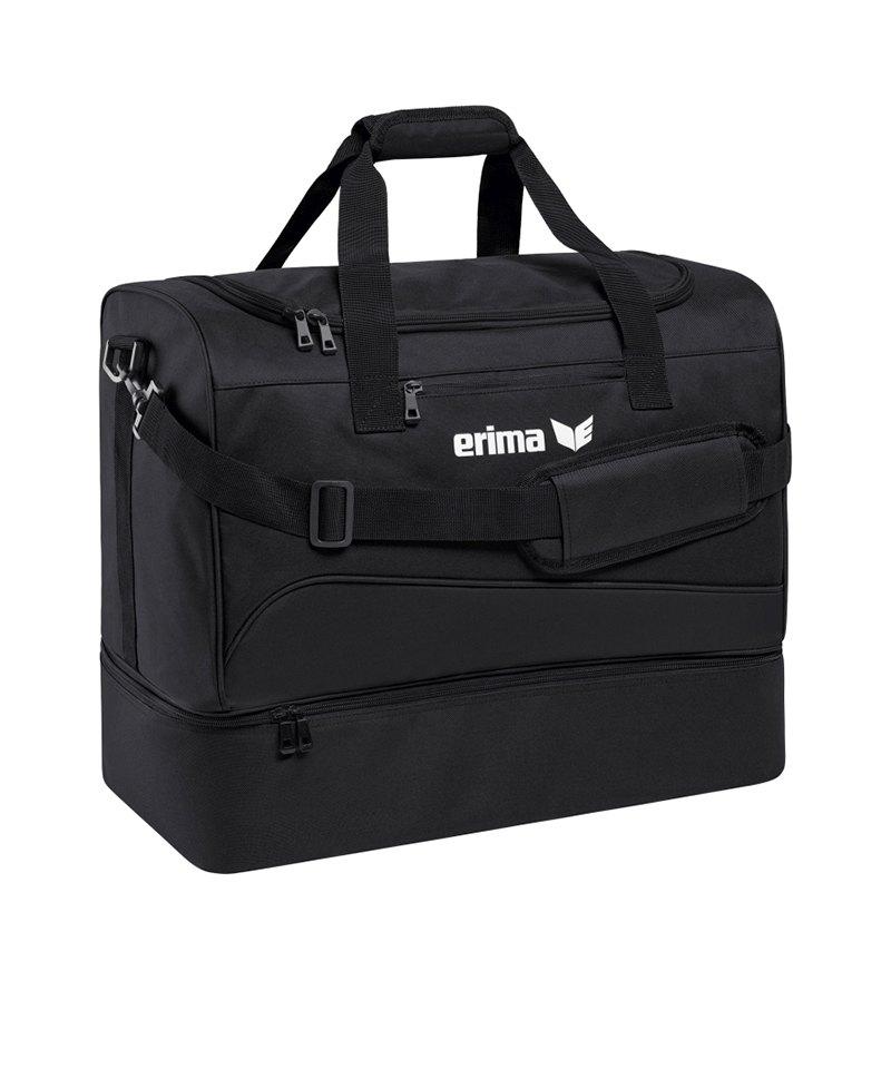 Erima Bottom Case Bag Club 1900 2.0 Gr.L Schwarz - schwarz