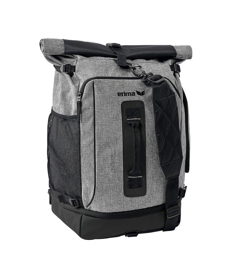 Erima Travel Pack Rucksack Grau - grau